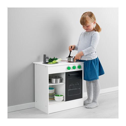 Ikea Play Kitchen ikea nybakad play kitchen, white, black | ebay