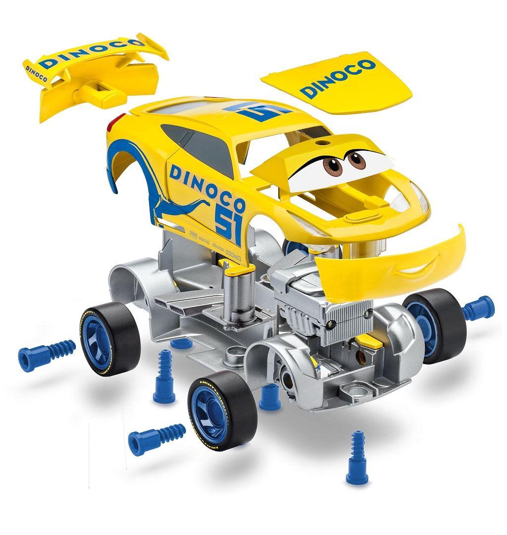 Revell Junior Kit Disney Pixar Cars 3 Dinoco Cruz Ramirez 00862