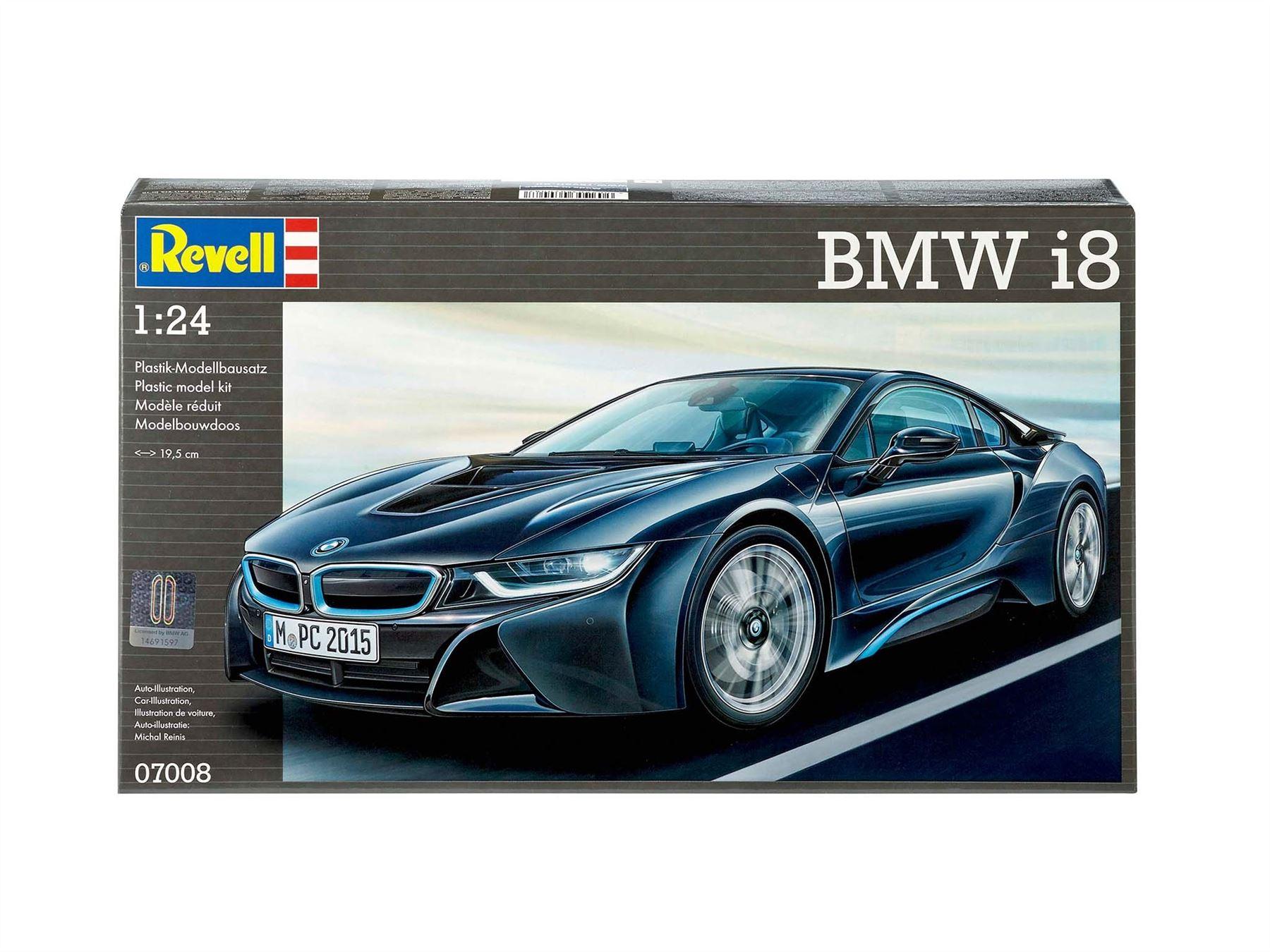 Revell Bmw I8 1 24 Model Kit 07008 4009803070087 Ebay