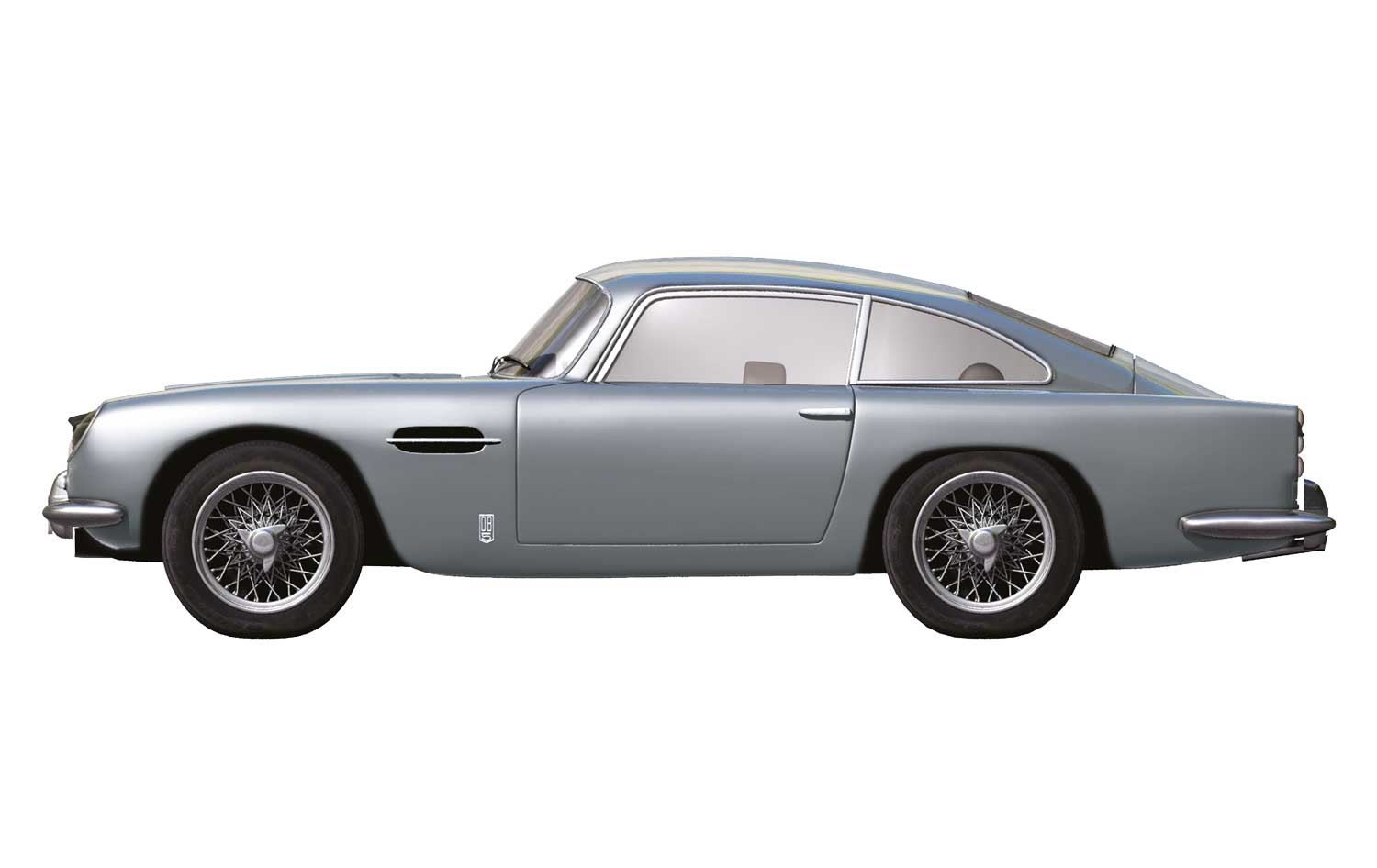 Airfix 1:32 ASTON MARTIN DB5 Model Kit   SILVER   A50089A