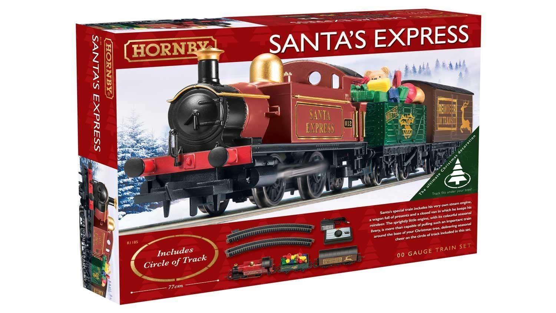 Hornby Weihnachtsmann Express Weihnachten Zug-Set - Baum Basis ...