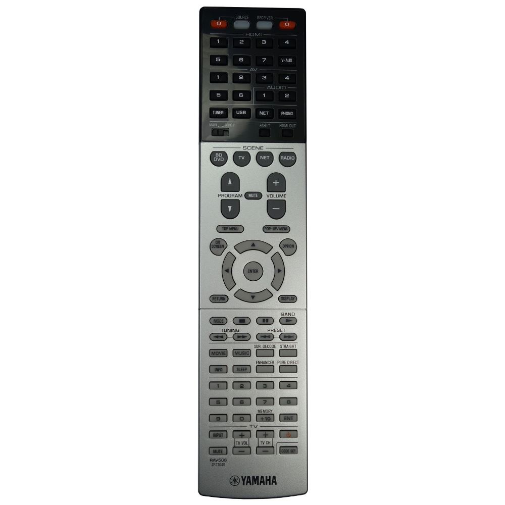Details About New Genuine Yamaha Rx A840 Av Receiver Remote Control