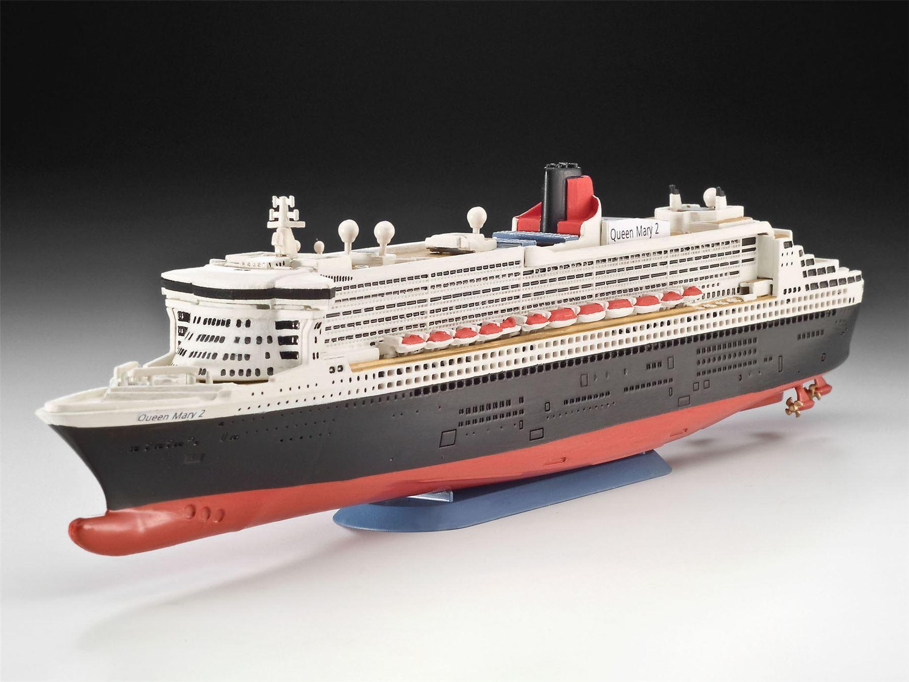 Revell Queen Mary 2 1 1200 Model Kit Rev05808 Ebay