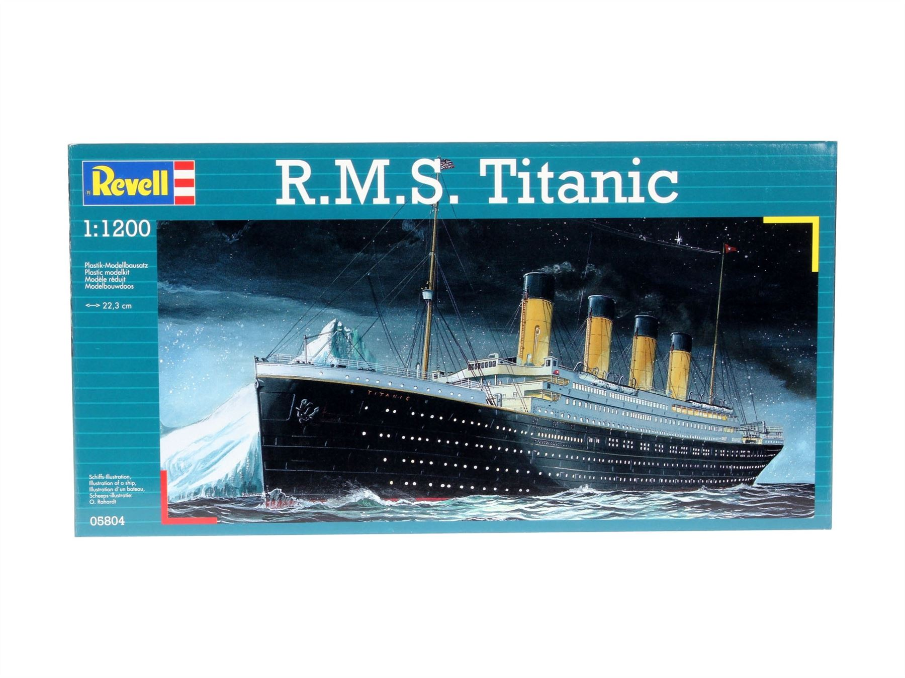 revell r m s titanic 1 1200 modell bausatz rev05804 ebay. Black Bedroom Furniture Sets. Home Design Ideas