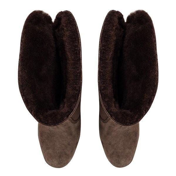 scarpeprimo LENNOX Marronee - - - AUSTRALIAN SHEEPSKIN Ladies avvio | Diversi stili e stili  | Scolaro/Signora Scarpa  def477