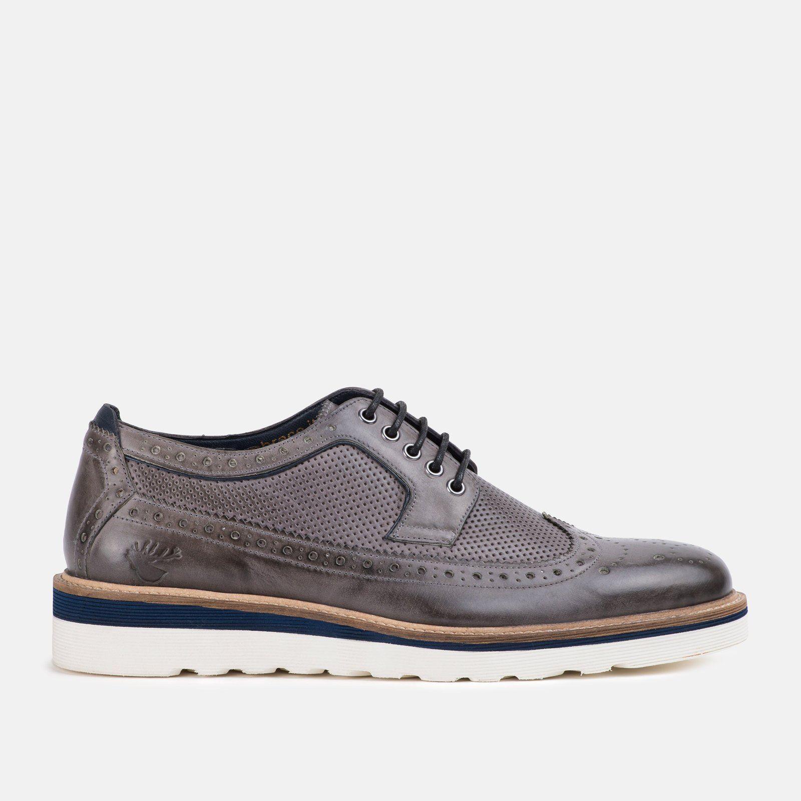 ordina ora i prezzi più bassi Goodwin Smith Ripley Grigio AW18 scarpa scarpa scarpa da uomo  punti vendita