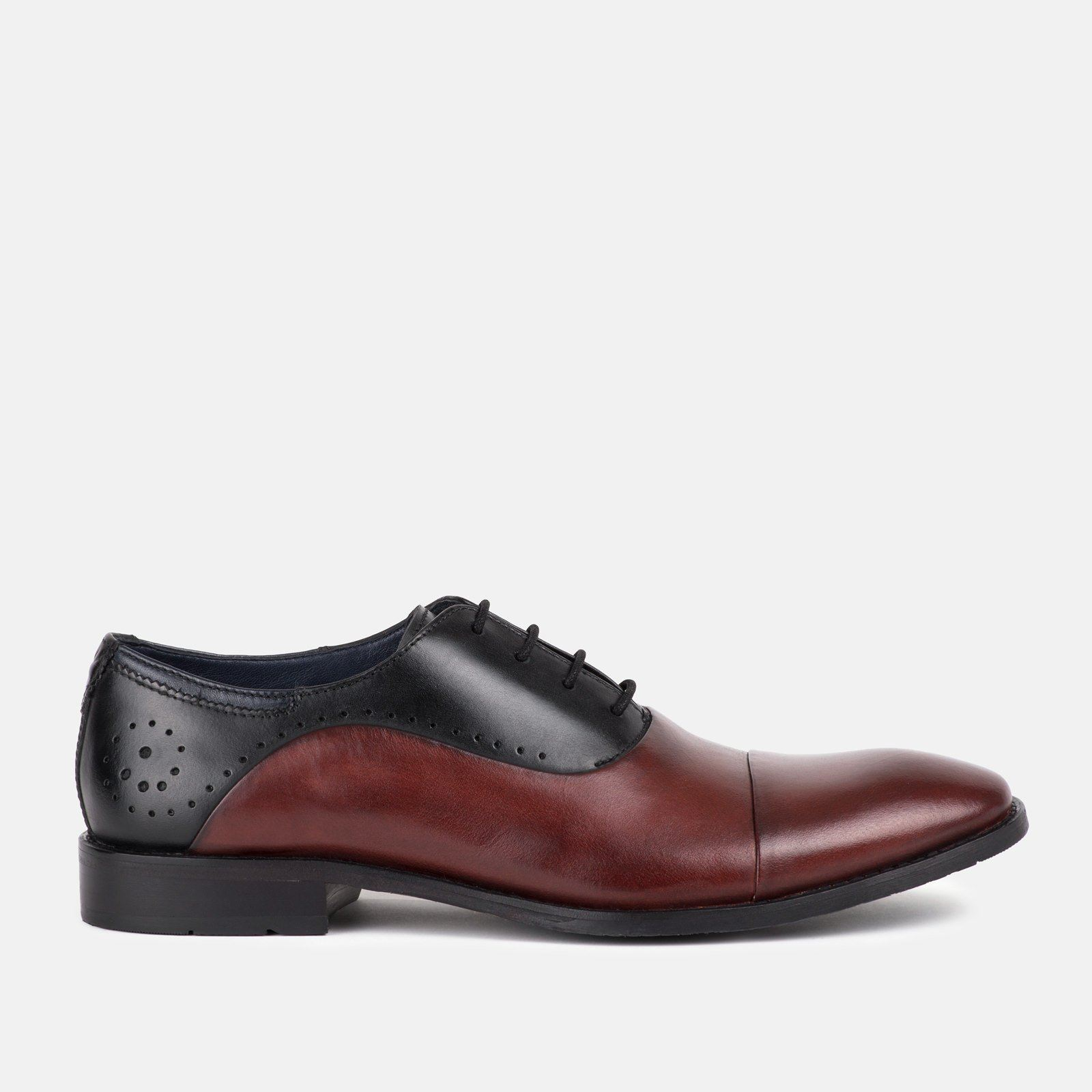 Goodwin Smith HUTTON schwarz BORDO AW18 Mens schuhe