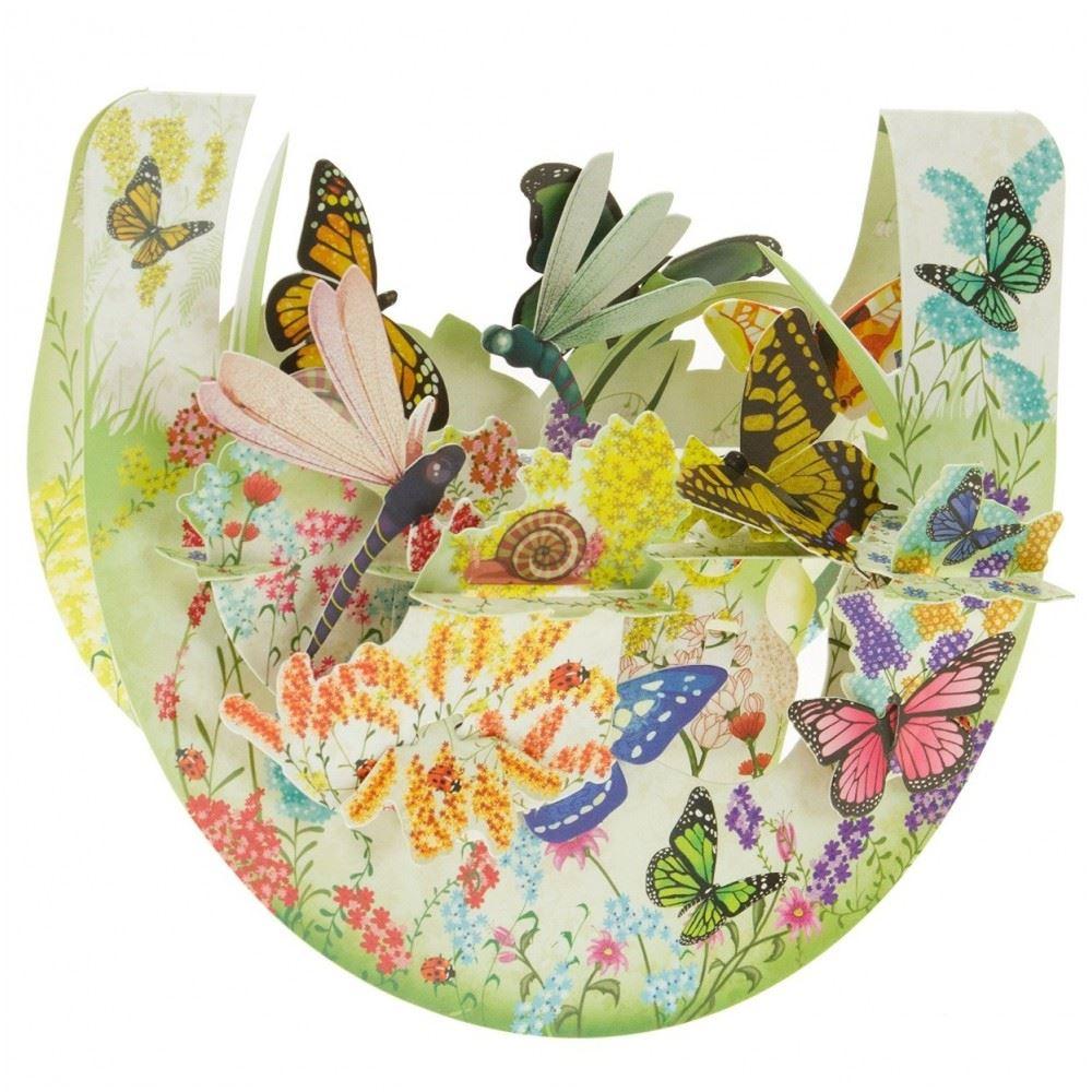 Santoro PopnrockTM 3D Butterfly and Dragonfly  Design