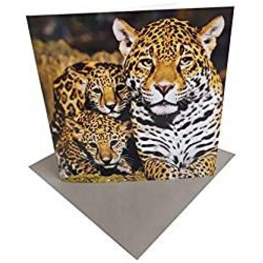 Jaguar Sounds: Endangered Species Greeting Sound Card By Really Wild