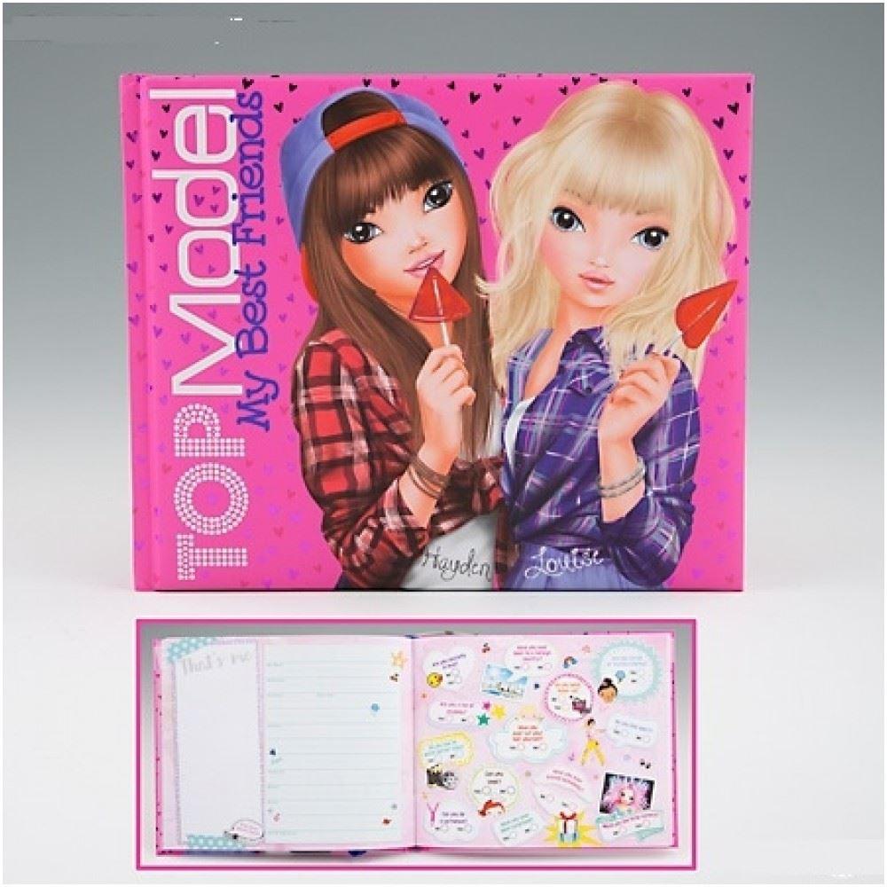 topmodel friendship book pink by depesche 4010070323257 ebay