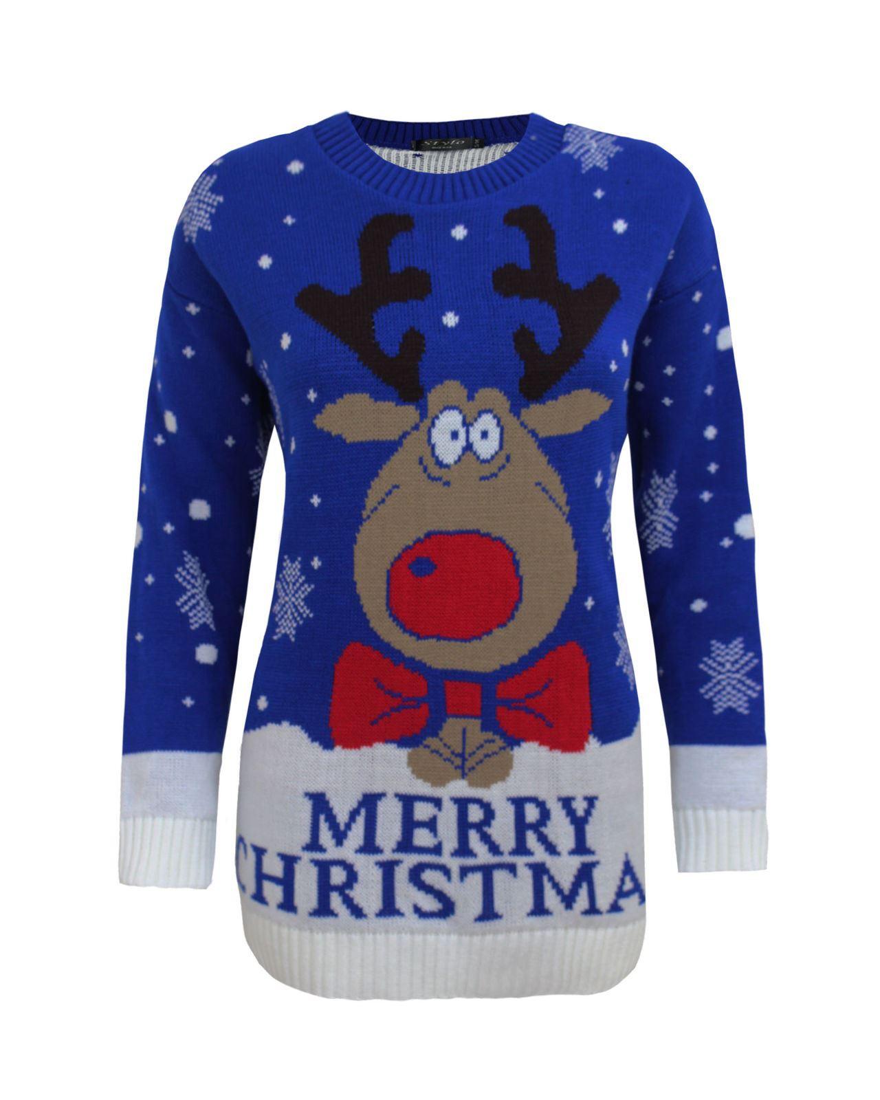 Kids Boy Girl Knitted Christmas Xmas Olaf Minion Chunky Knit Jumper Novelty T...