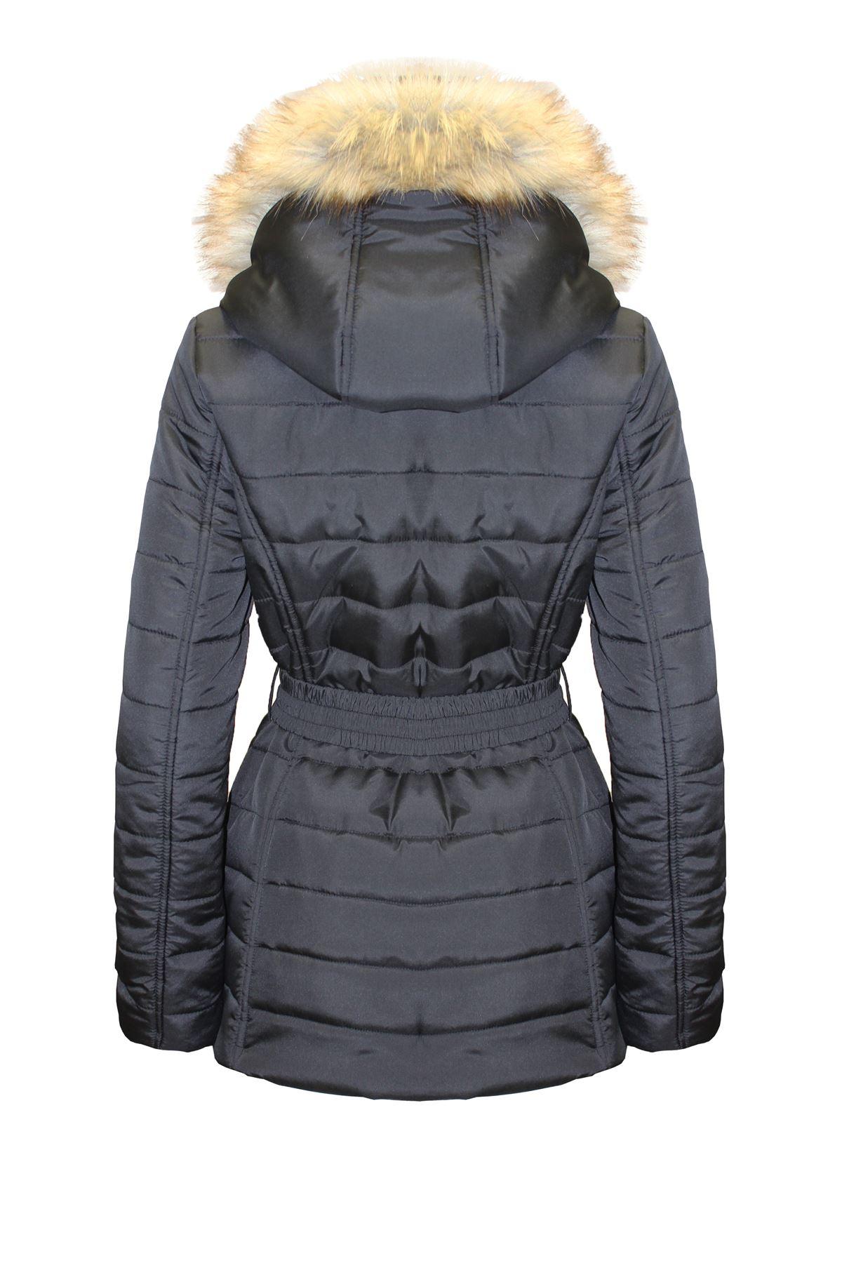 et poches capuche Manteau femme pour glissière à poches à fourrure femmes en pour avec vgaxvA
