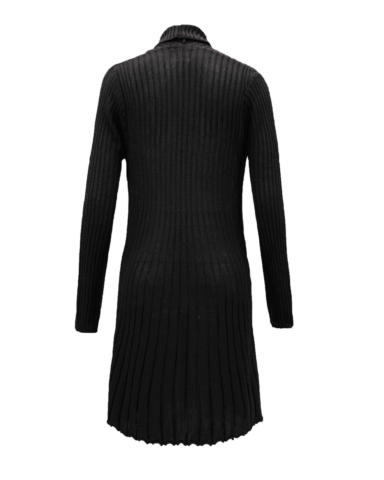 Ladies-Women-Knitted-Brooch-Boyfriend-Cardigan-Waterfall-Summer-Dress-Top-Jumper thumbnail 11