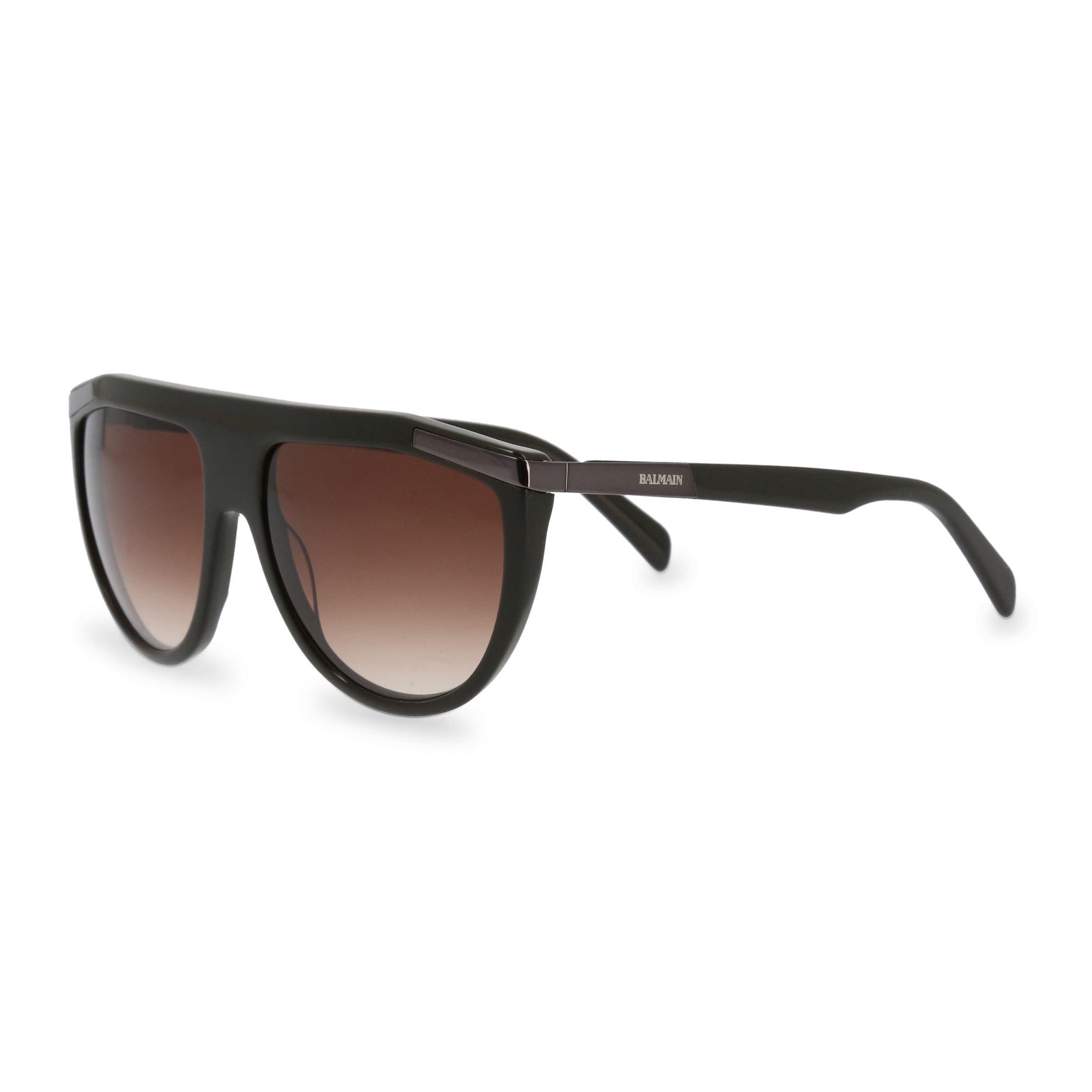180aca52b Details about Balmain Unisex Sunglasses Brown Acetate Frame Gradient Lenses  UV2