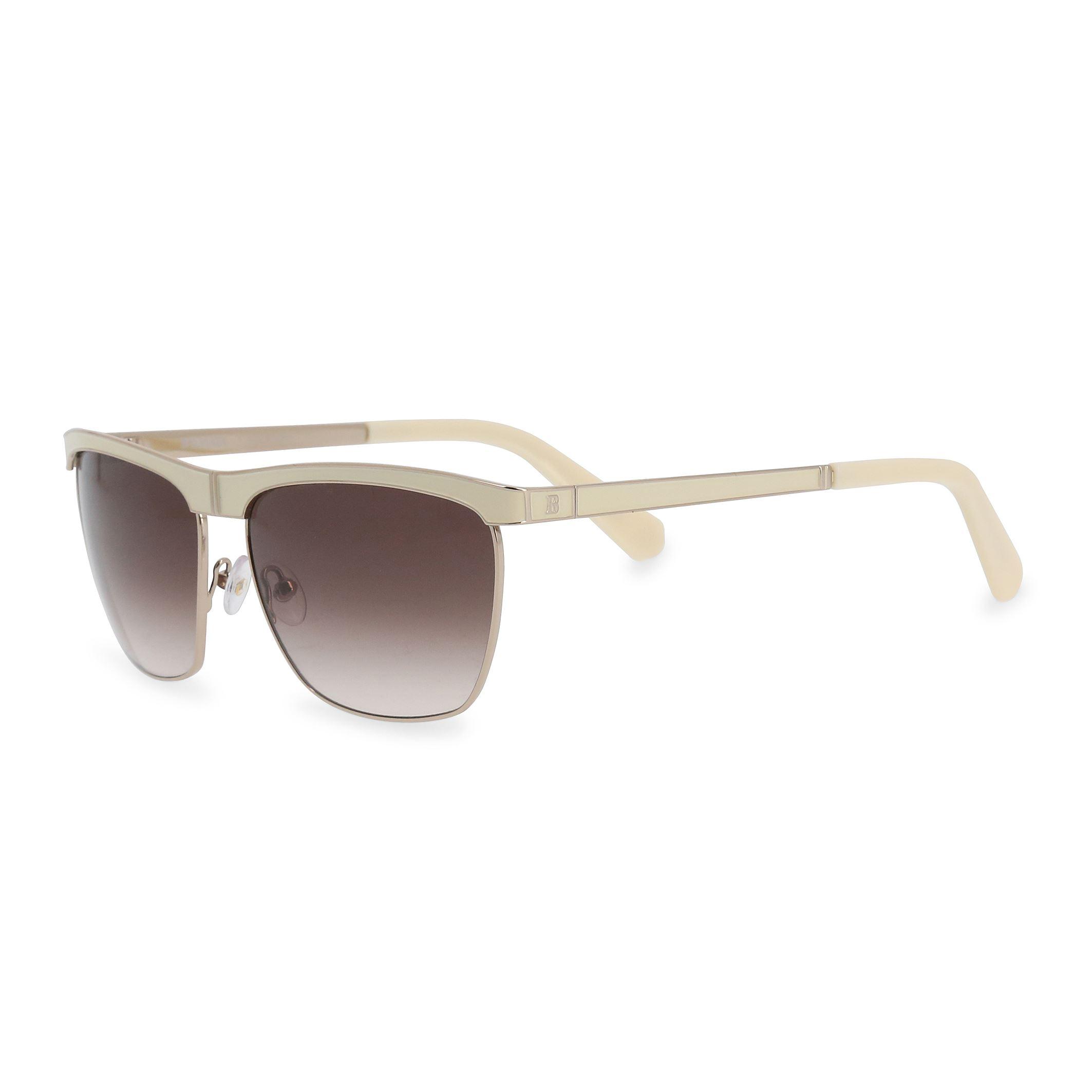c288d5e4ae12 Details about Balmain Unisex Square Sunglasses White Metal Frame UV2  Protection