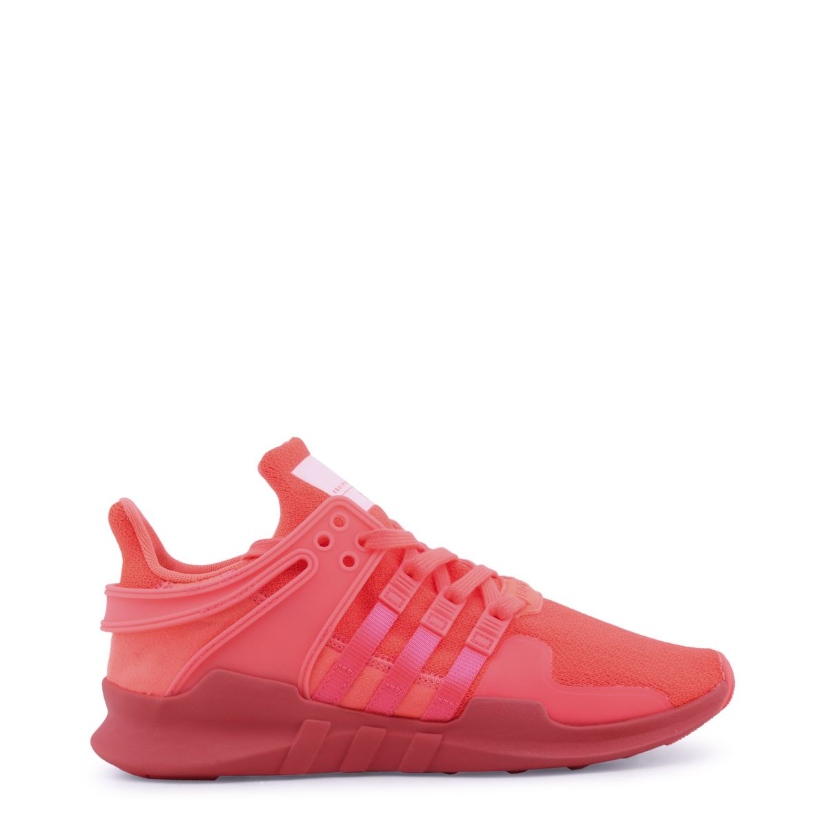 Details about Adidas Women s Red Low-Top Sneakers Lace-Up Modern Athletic  Rubber Shoes 0361d9b2b