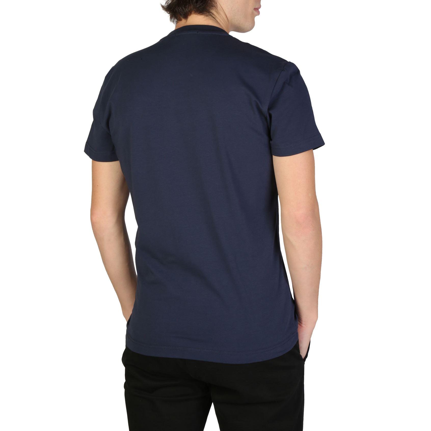 62c96e9edbe4 Versace Jeans Men s Blue Cotton T-shirt Comfy Shirts Round Neck