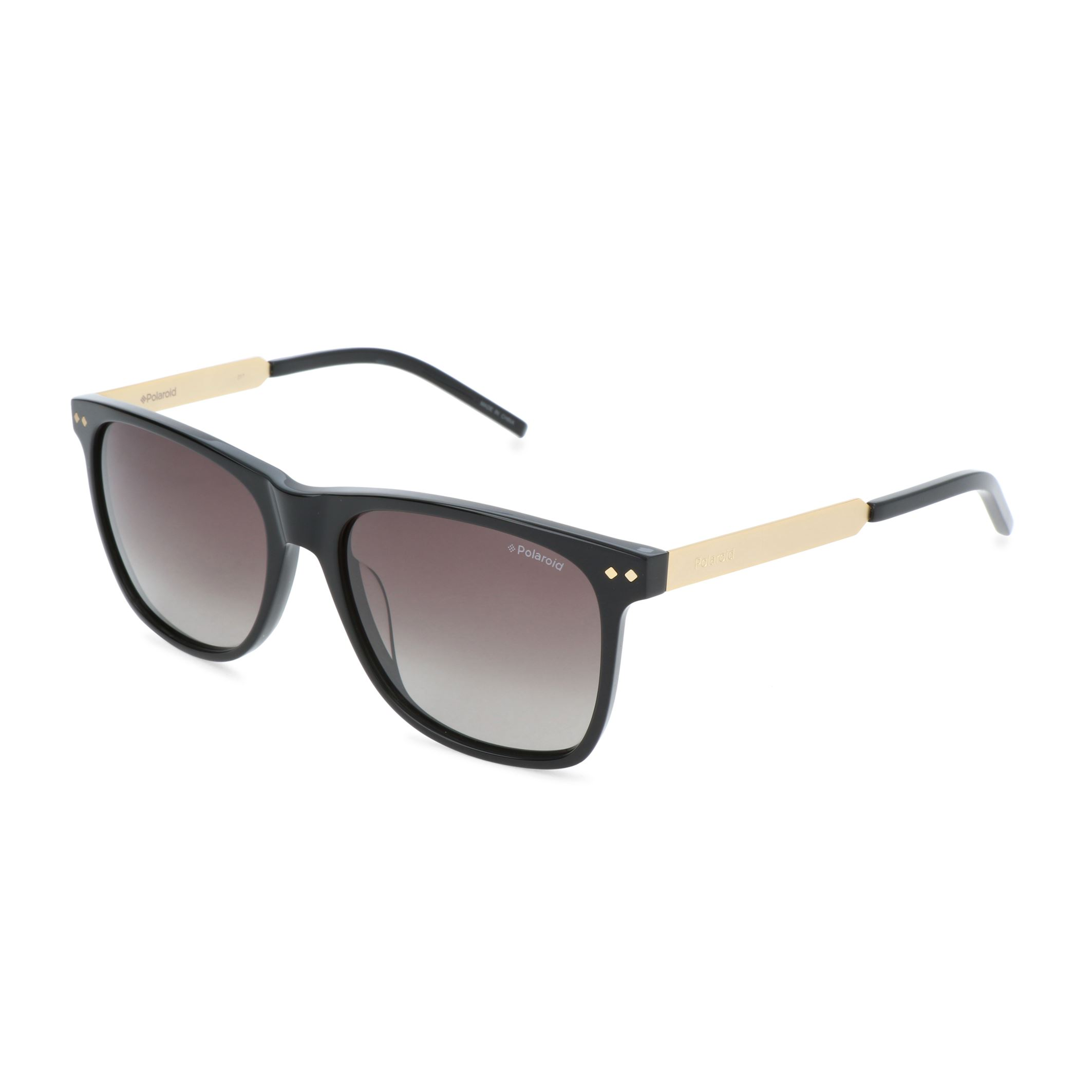 ae491e20b6b1a Details about Polaroid Men s Black Polarized Sunglasses UV3 Protection  Acetate Frame Sunnies
