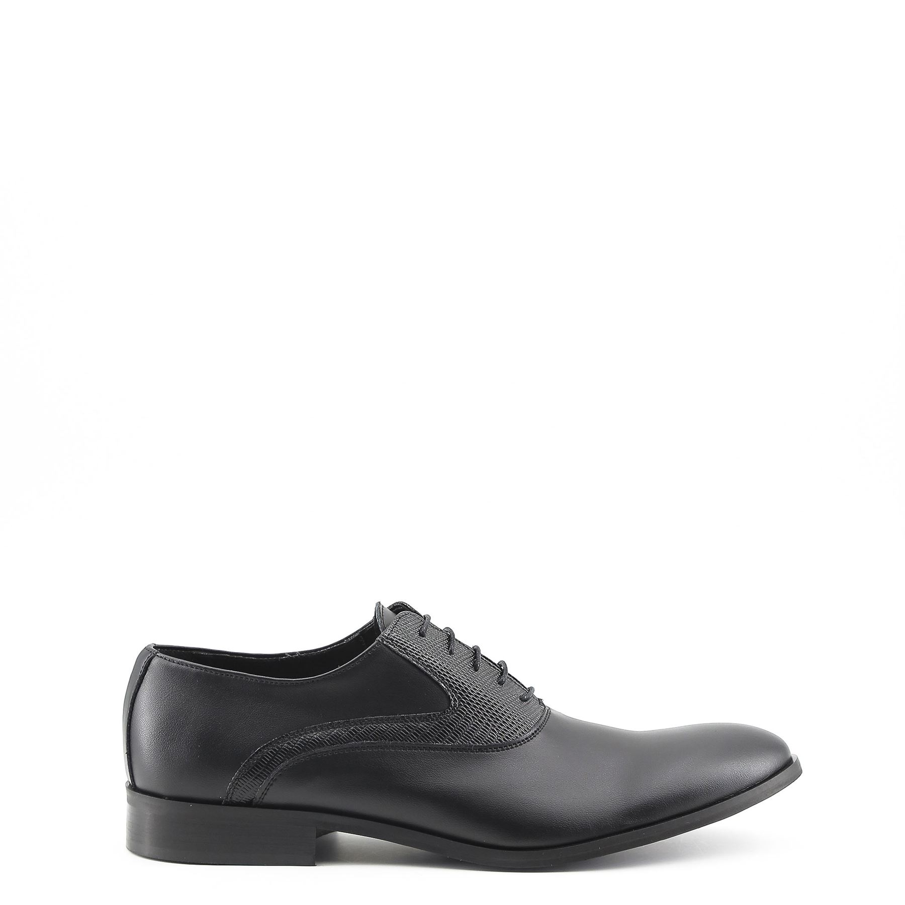 7785edd05 Details about Made In Italia JOACHIM Men s Leather Oxford Lace Up Dress  Shoes Black