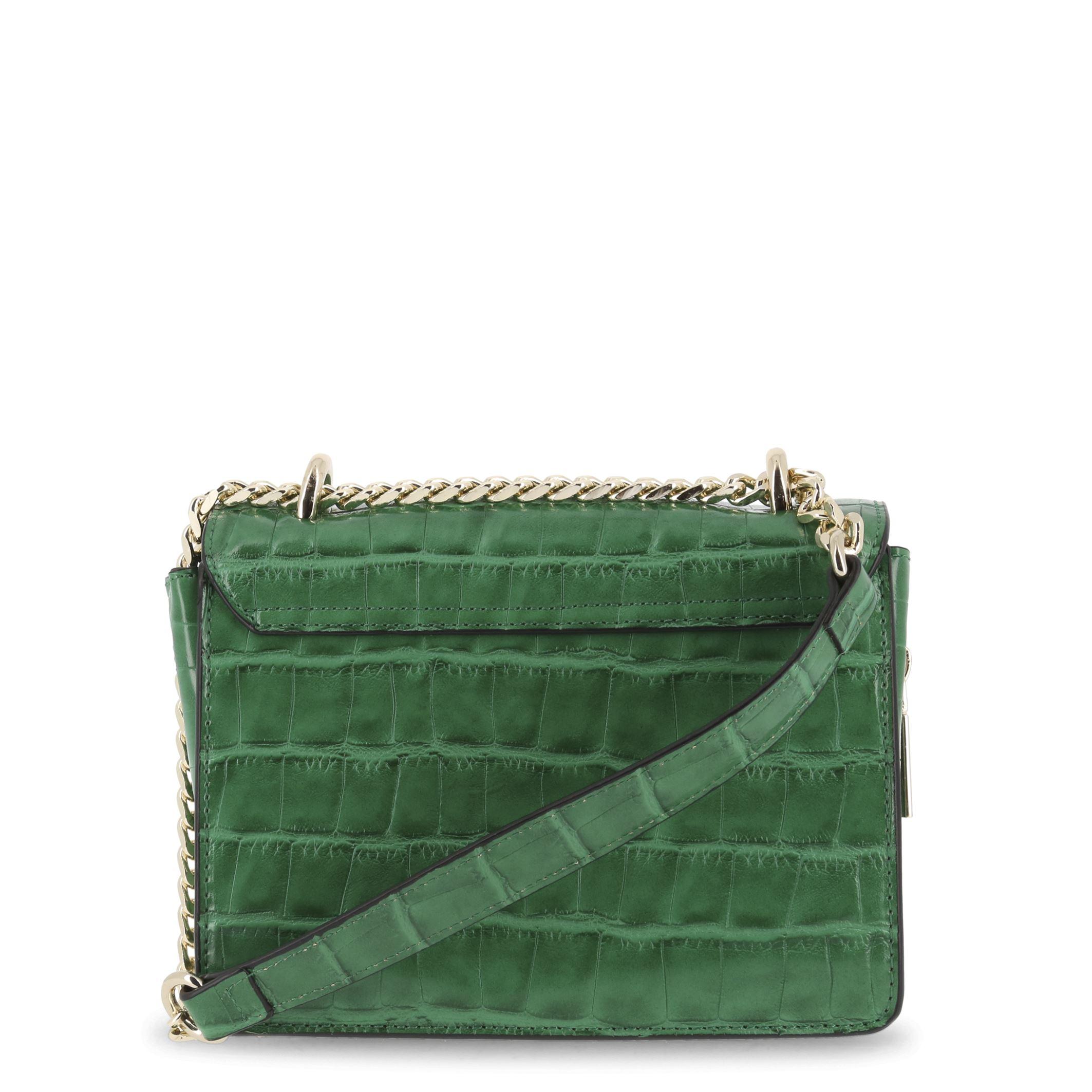 67bbb24048 Details about Versace Jeans Women s Green Cross-Body Shoulder Bag Metallic  Closure