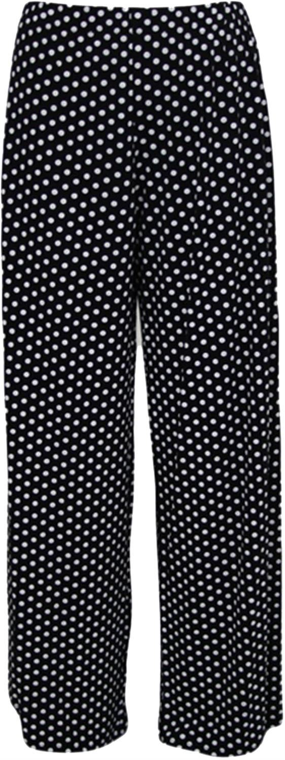thumbnail 12 - New Women Casual Flare Wide Leg Long Floral Printed Palazzo Baggy Trousers