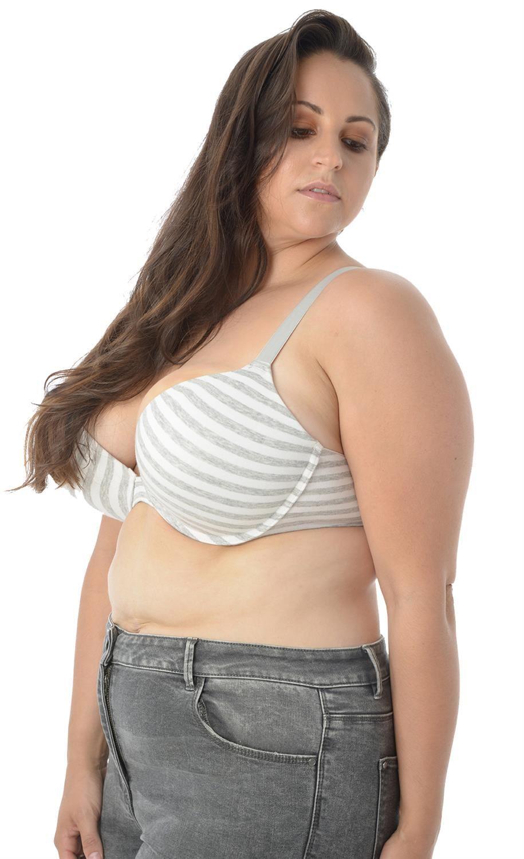 Esprimere naturale Infettare  New Womens Plunge Stripe Adjustable Straps Padded Push Up Bra Tops 38DD –  44DD | eBay
