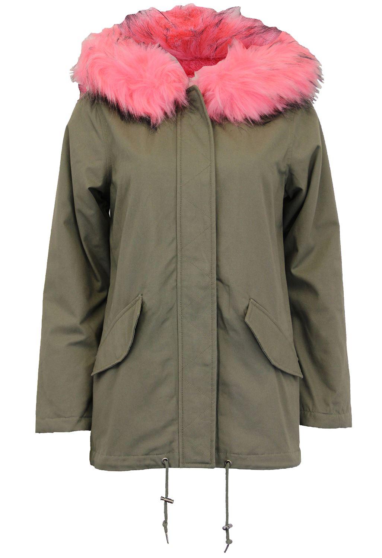 Neu-Damen-Pelz-Sherpa-Vlies-Hooded-liniert-Parka-Winter-Mantel-Jacken-36-52 Indexbild 8