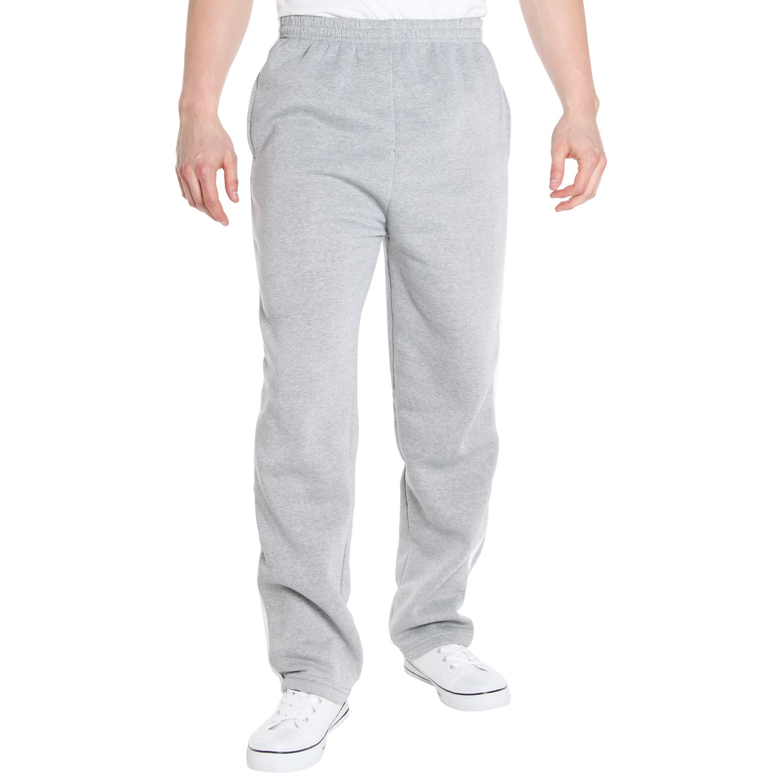 herren hose fleece sport training fitness jogging hosen sweat pants ebay. Black Bedroom Furniture Sets. Home Design Ideas