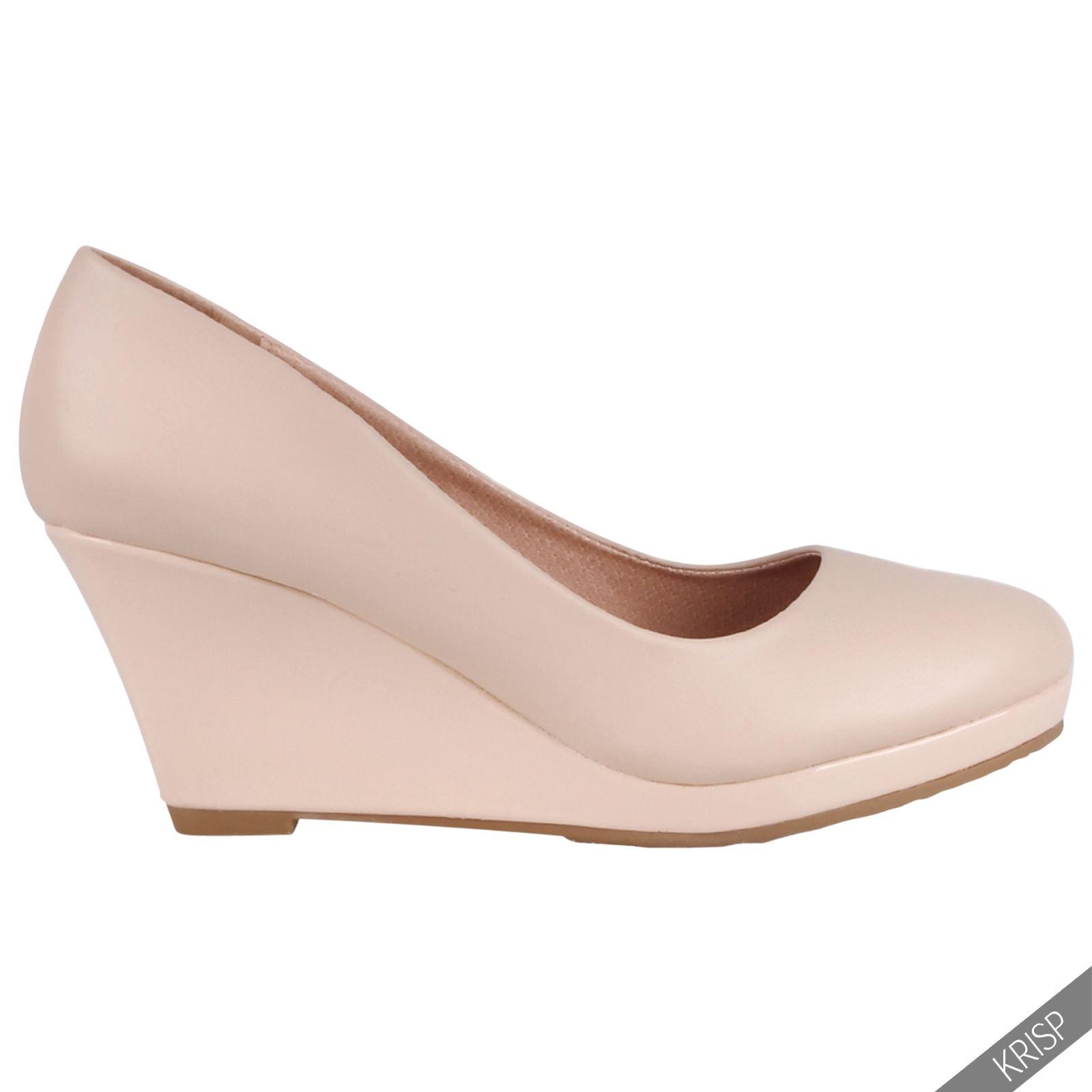 Zapatos mujer tacto piel con tac n cu a de charol dise o for Diseno de zapatos