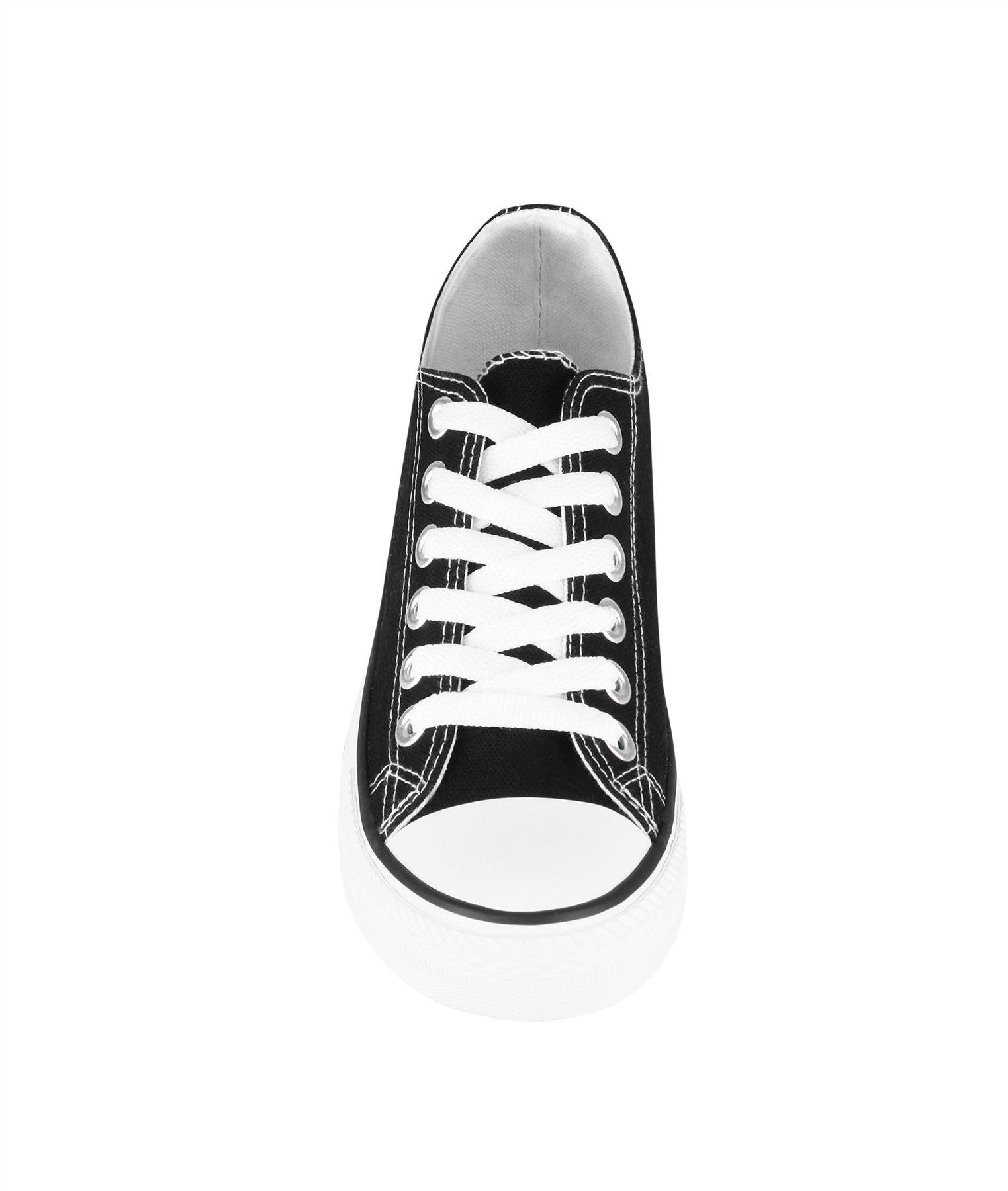 Zapatillas-Mujer-Casuales-Deportiva-Barata-Lona-Moda-Originales-Outlet-Tela-Moda miniatura 34