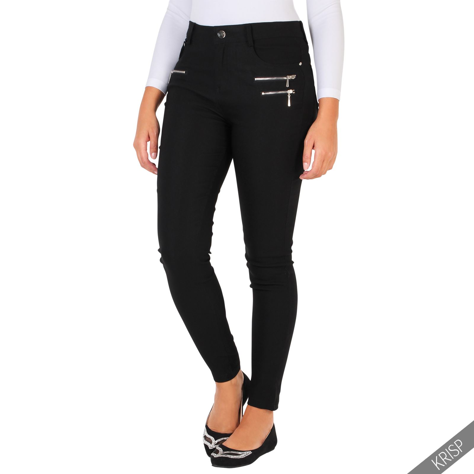 New York & Company slim leg pants feature a slim, straight leg shape and are available in two different fits; Signature, which has a universal fit and is relaxed through the hip & thigh, and Modern, which has a leaner fit and runs straight through the hip & thigh.
