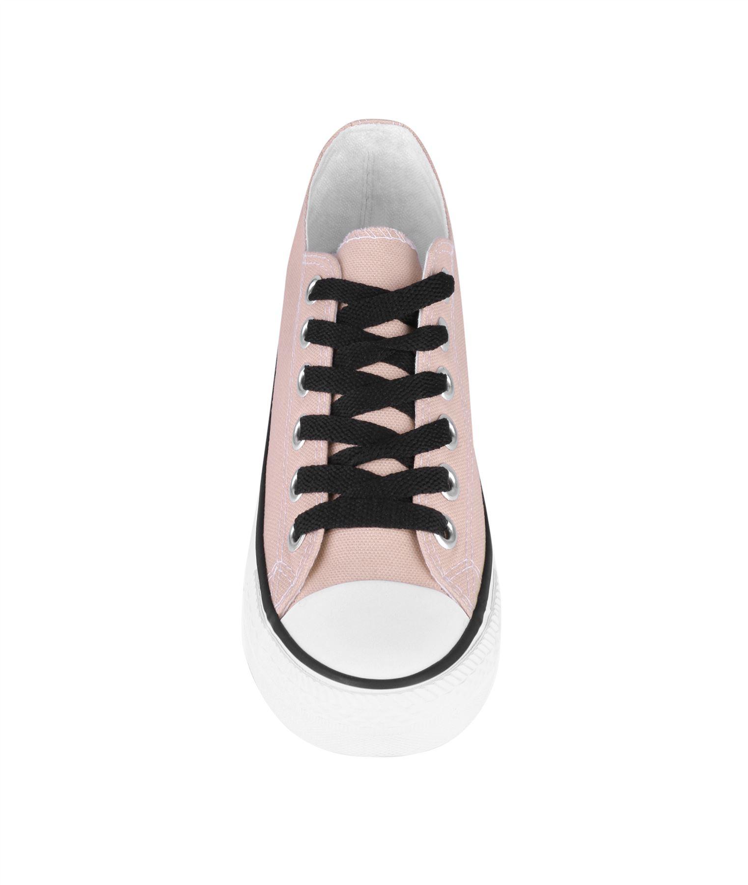 Zapatillas-Mujer-Casuales-Deportiva-Barata-Lona-Moda-Originales-Outlet-Tela-Moda miniatura 48