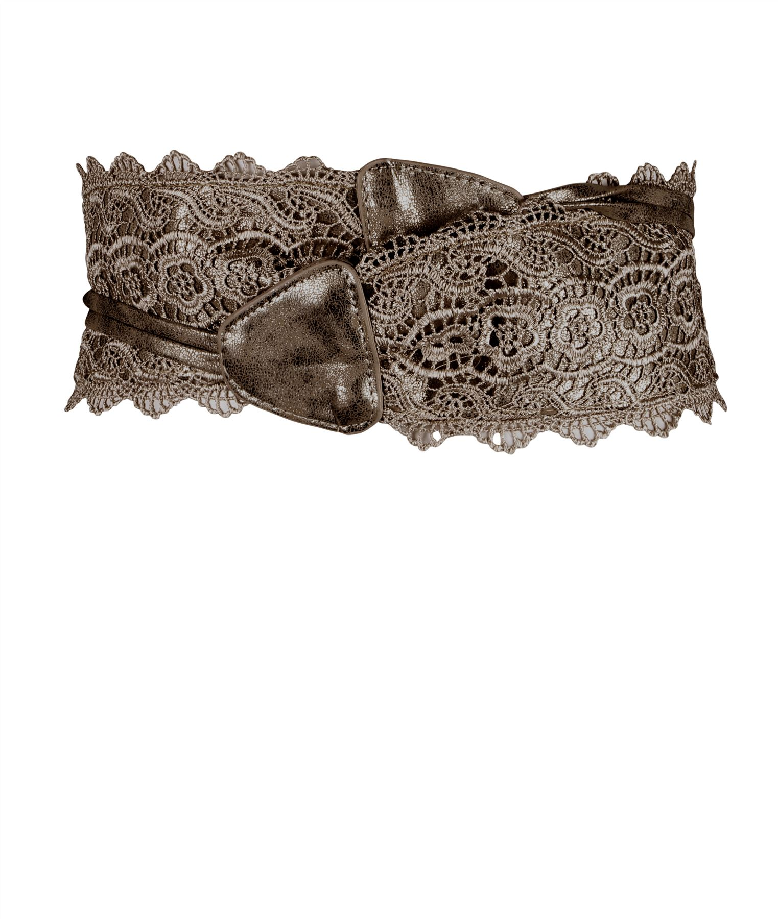thumbnail 8 - Womens-Ladies-Wide-Waist-Belt-Floral-Waistband-Pattern-Band-Crochet-Lace-Corset