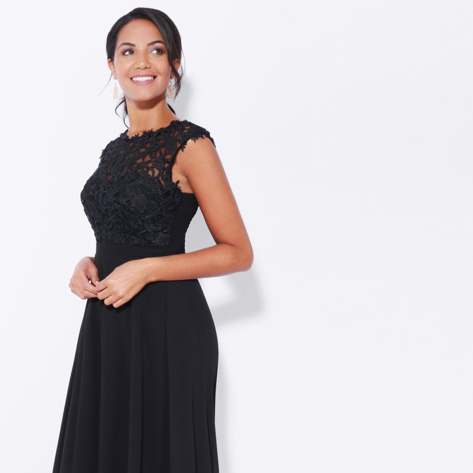 Womens-Wedding-Bridesmaid-Prom-Dress-Formal-One-Off-Shoulder-Long-Evening-8-18 thumbnail 12