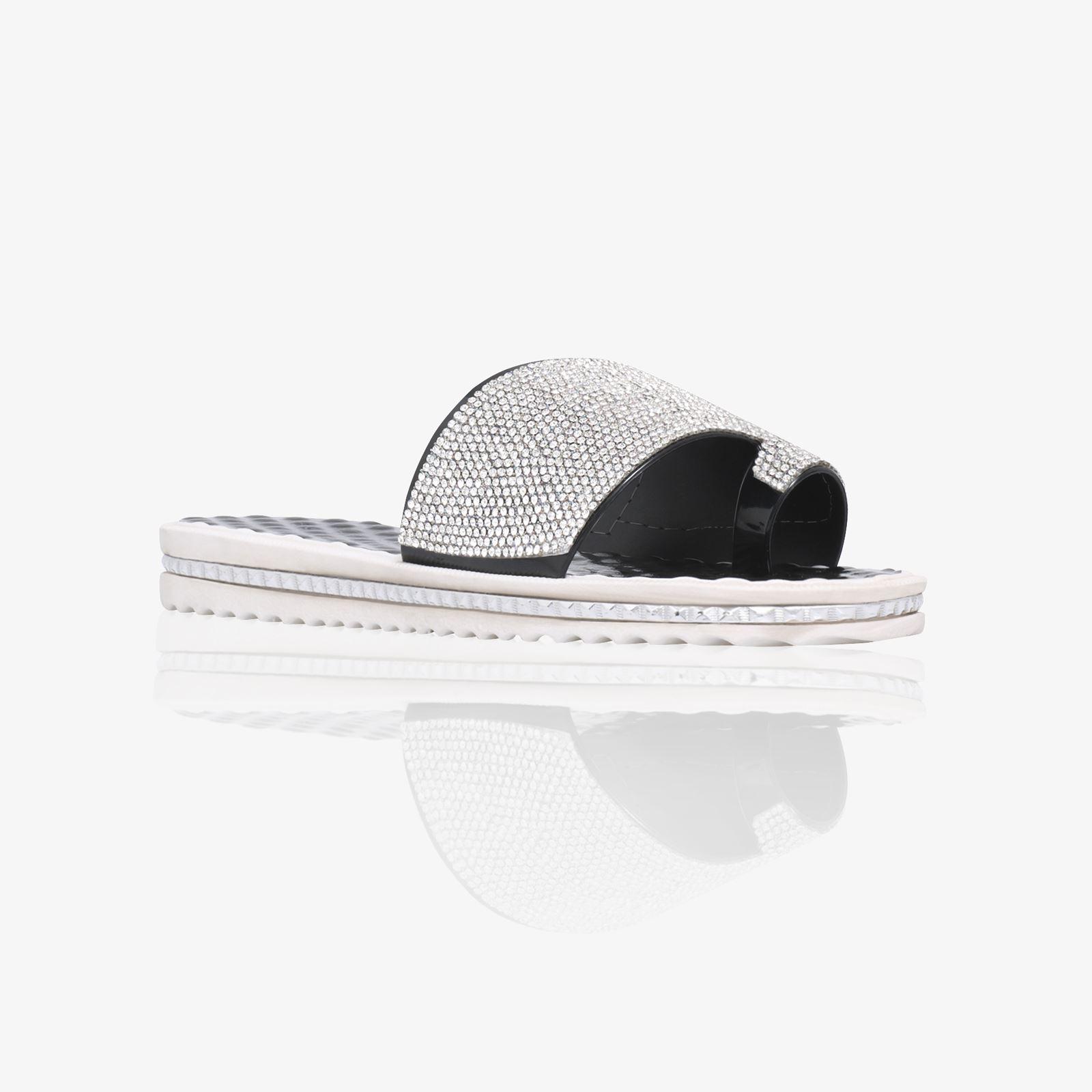 6fa993b50ea0 Women Moulded Jelly Flip Flops Sliders Mules Summer Flat Sandals ...