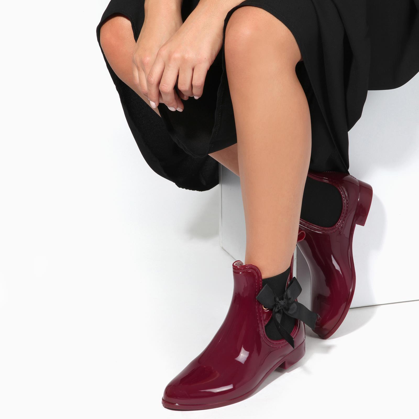 Botas-Agua-Mujer-Barata-Original-Botines-Moda-Comodas-Calzado-Elastico-Juveniles miniatura 16