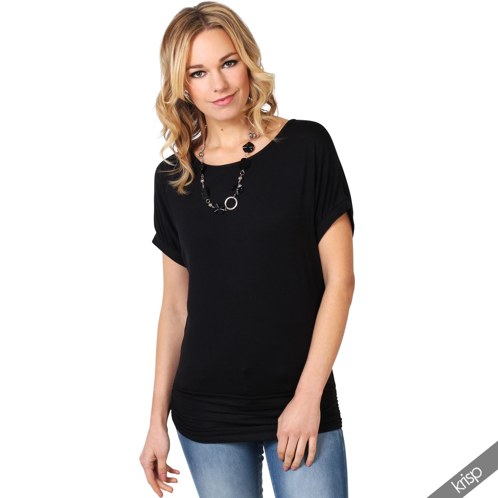 womens marisa batwing top necklace wearall