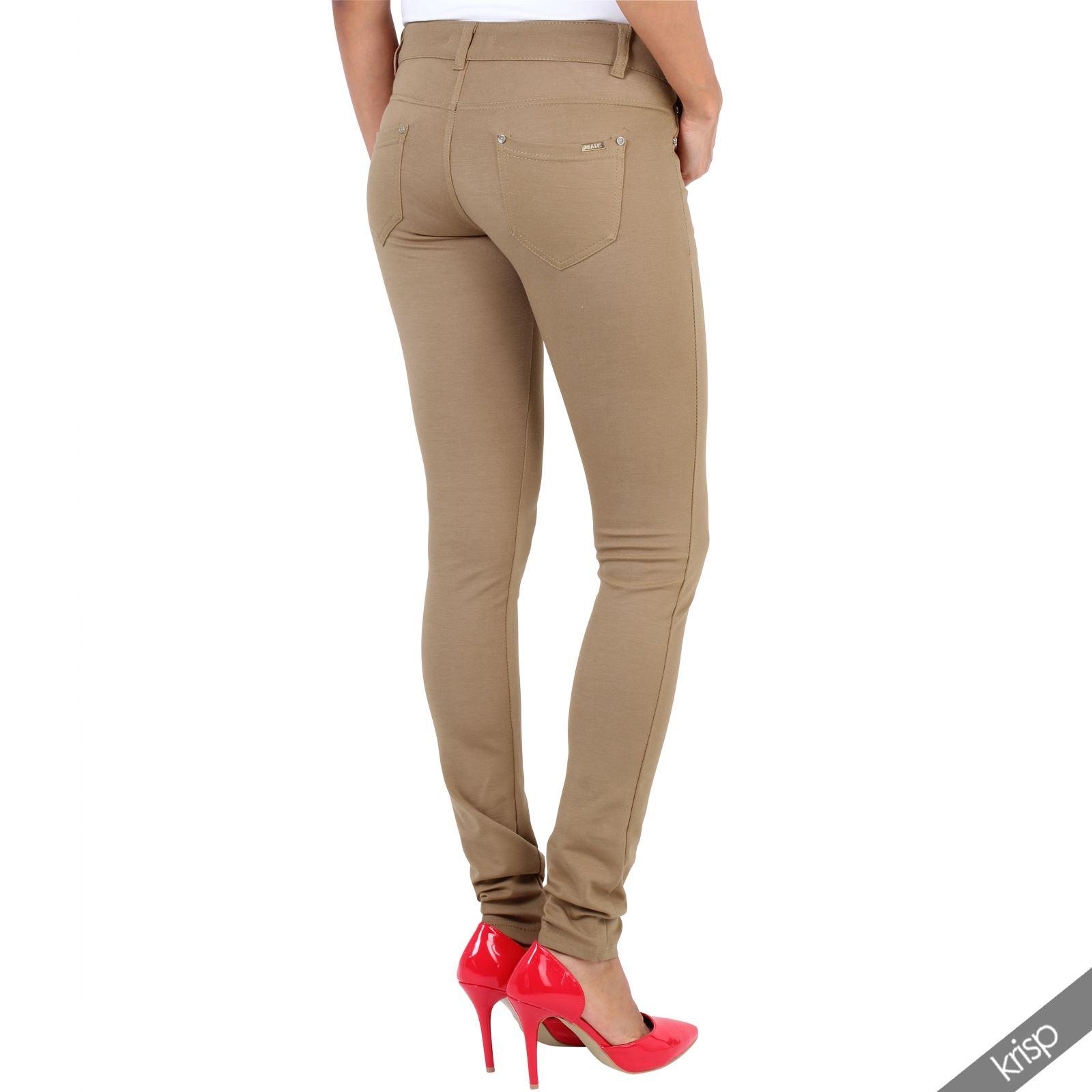 damen stretch skinny fit jeans jeggings leggings enge. Black Bedroom Furniture Sets. Home Design Ideas
