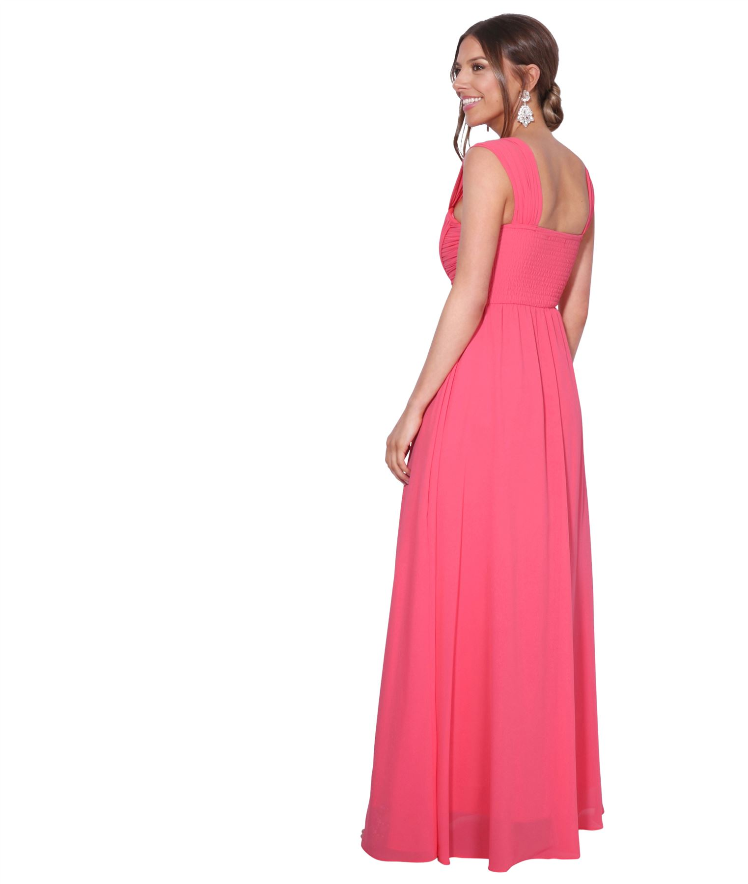 Womens-Formal-Evening-Wedding-Maxi-Prom-Dress-Long-On-Off-Shoulder-Ball-Gown thumbnail 17