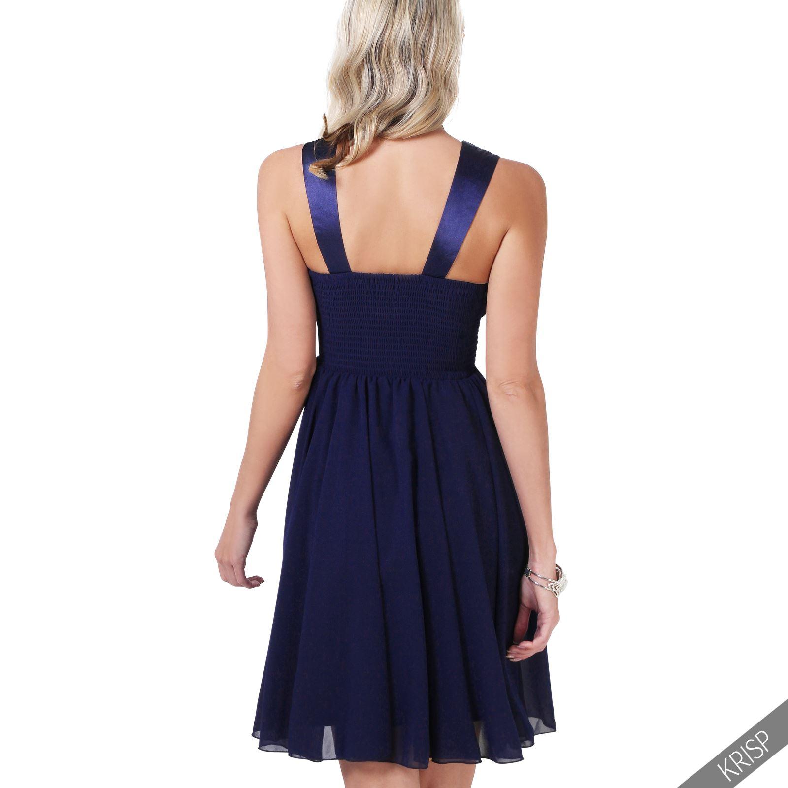 femmes robe soir e empire evas e tenue f te strass brillant promo jupe patineuse ebay. Black Bedroom Furniture Sets. Home Design Ideas
