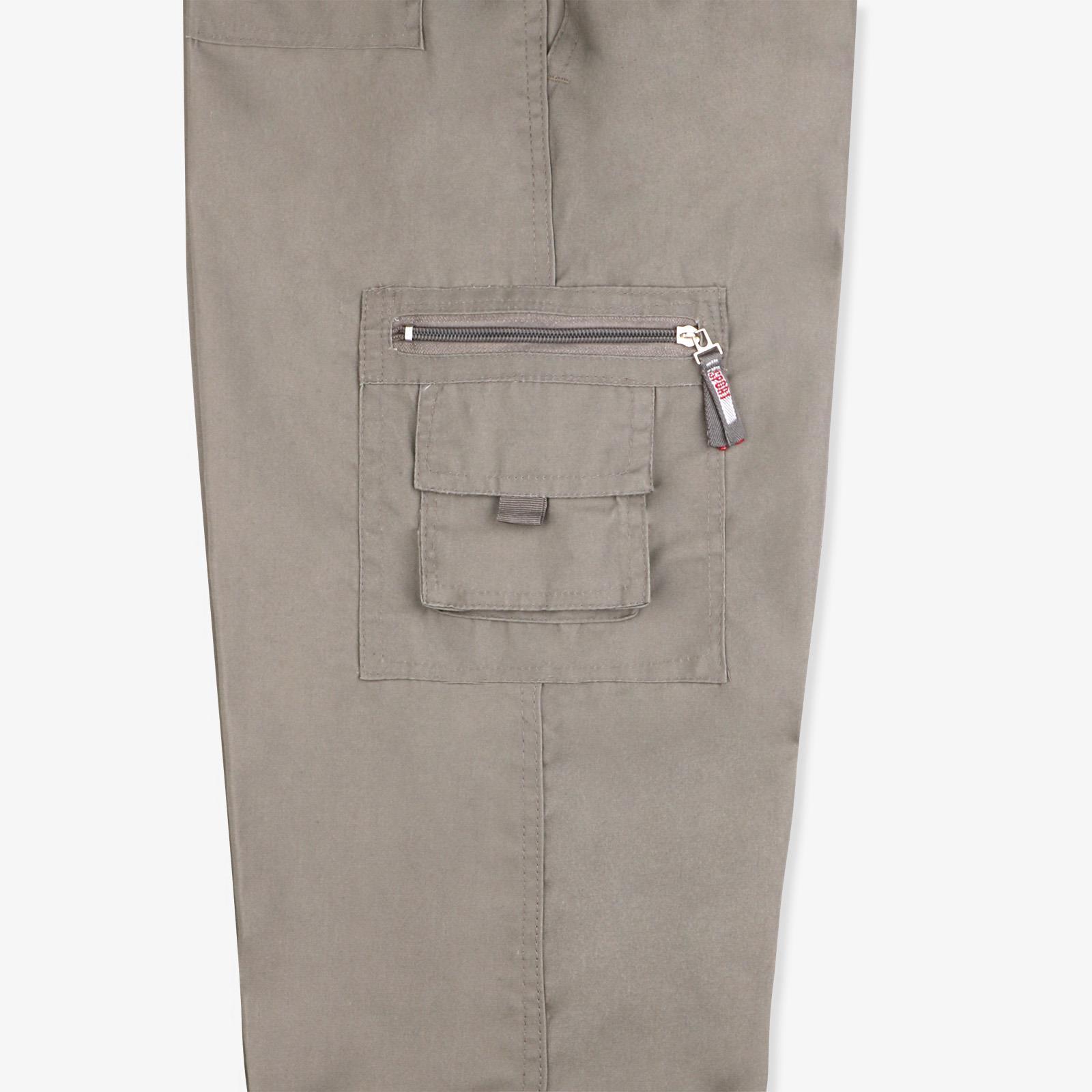 Pantalon-Homme-Cargo-Militaire-Ample-Poche-Grande-Taille-Elastique-Travail miniature 19