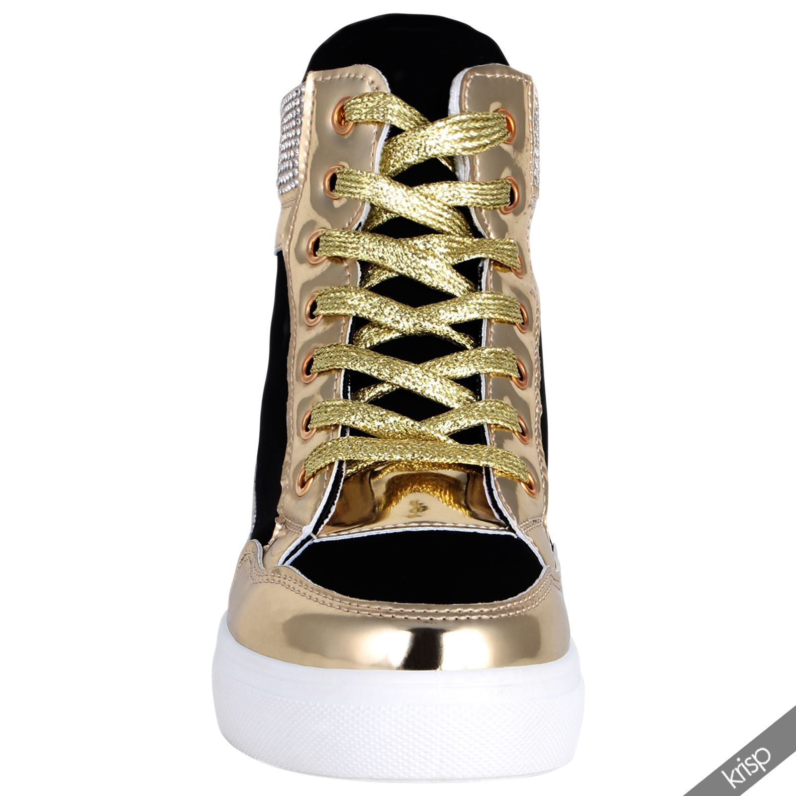 Studded Platform Tennis Shoes