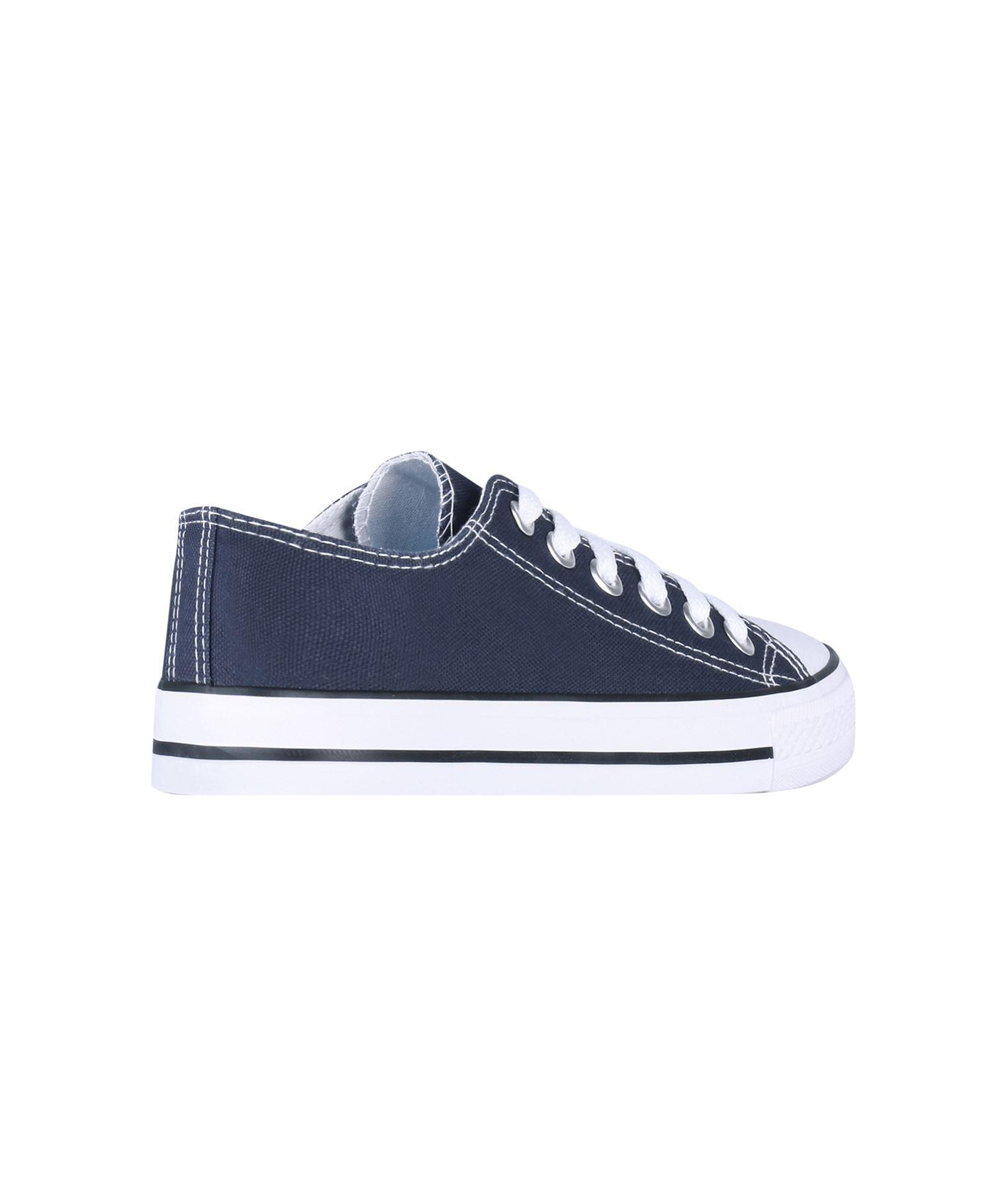 Zapatillas-Mujer-Casuales-Deportiva-Barata-Lona-Moda-Originales-Outlet-Tela-Moda miniatura 5