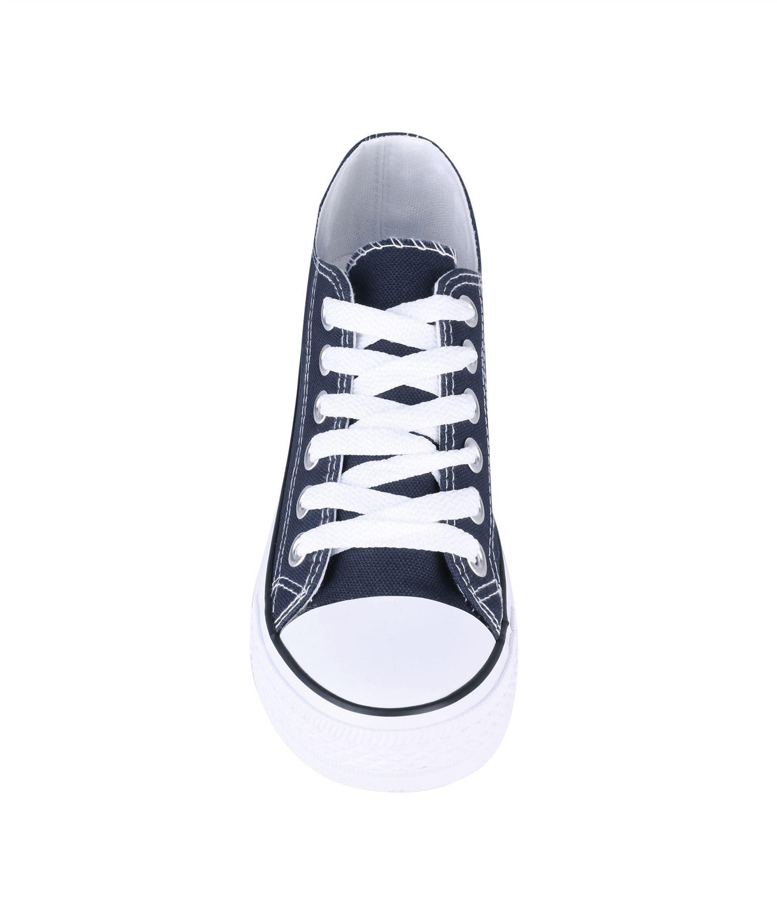 Zapatillas-Mujer-Casuales-Deportiva-Barata-Lona-Moda-Originales-Outlet-Tela-Moda miniatura 4