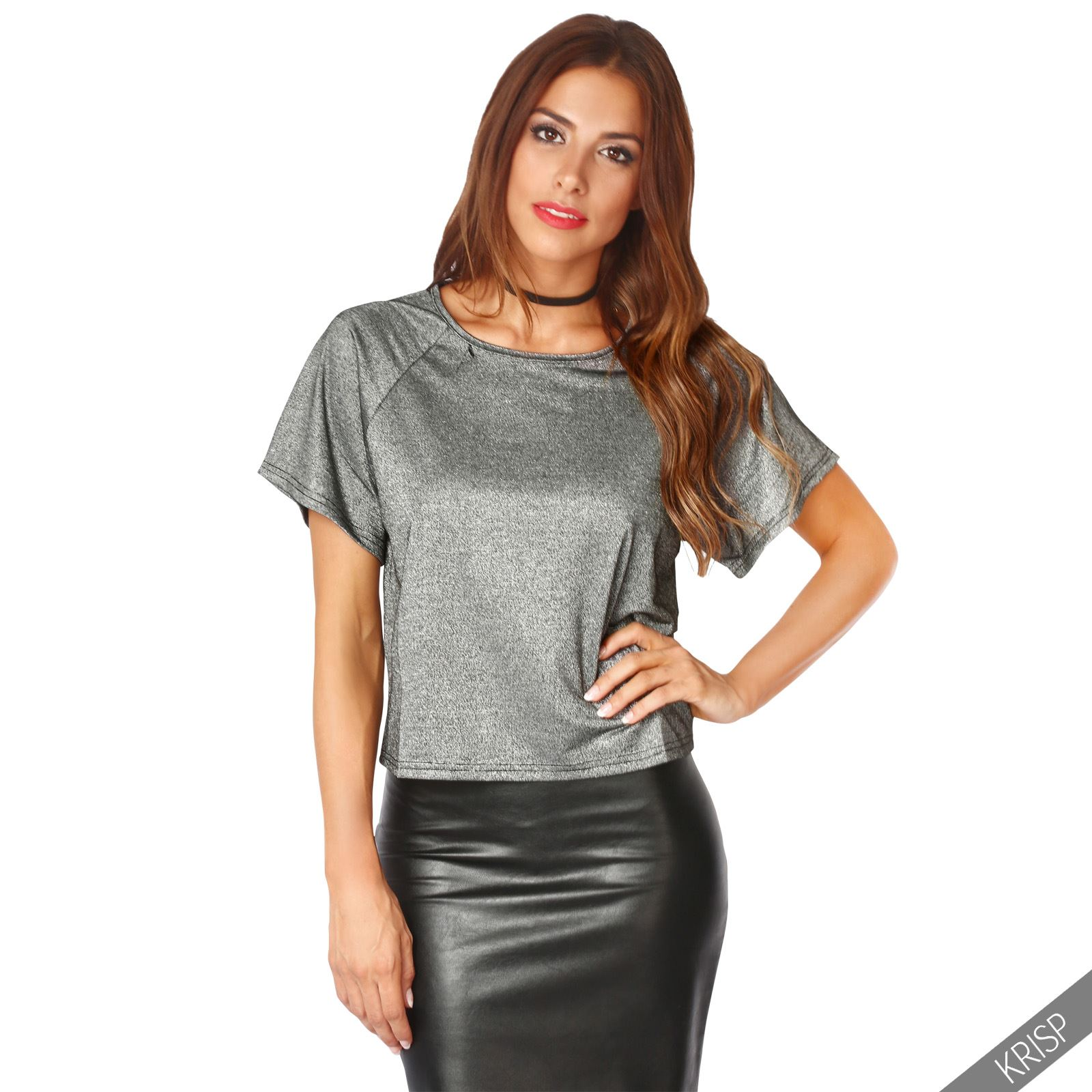Online shopping from a great selection at Clothing Store. Showing the most relevant results. See all results for womens gold metallic top.