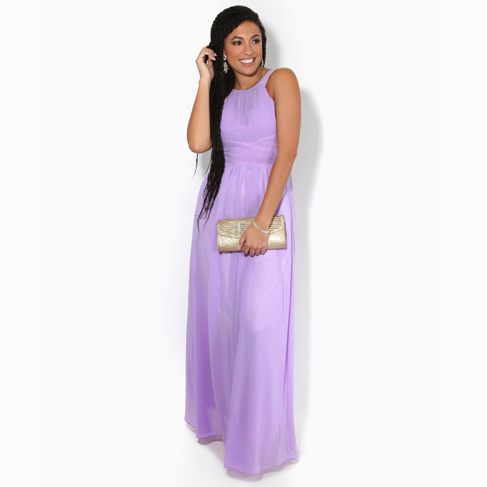 Women-Ladies-Long-Cocktail-Wedding-Bridesmaid-Evening-Maxi-Dress-Formal-Gown thumbnail 12