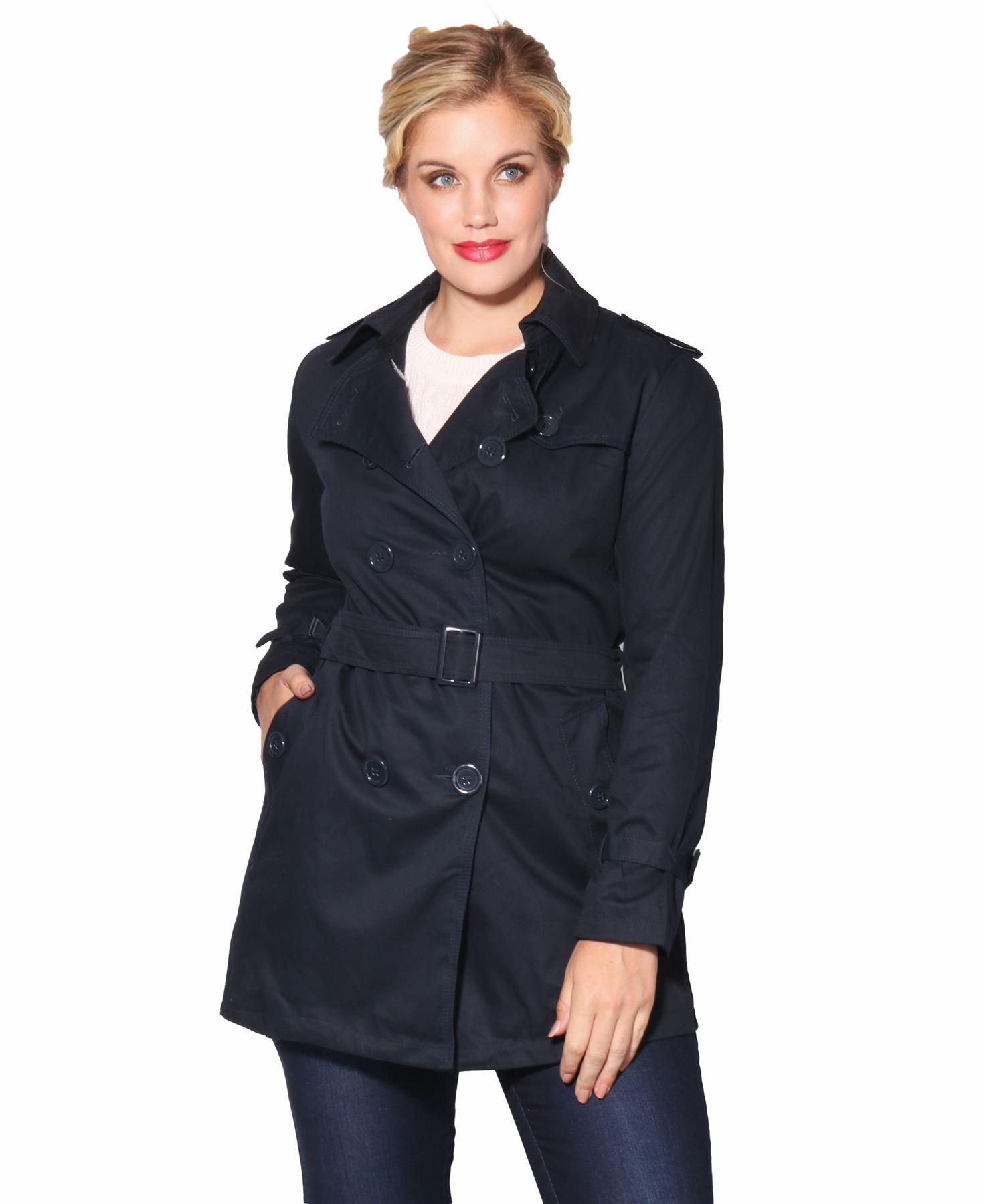 Jacke Zu 36 Details Kurzmantel Mantel 46 Damen Winter Große Größen Klassischer Trenchcoat PkiulTOwXZ