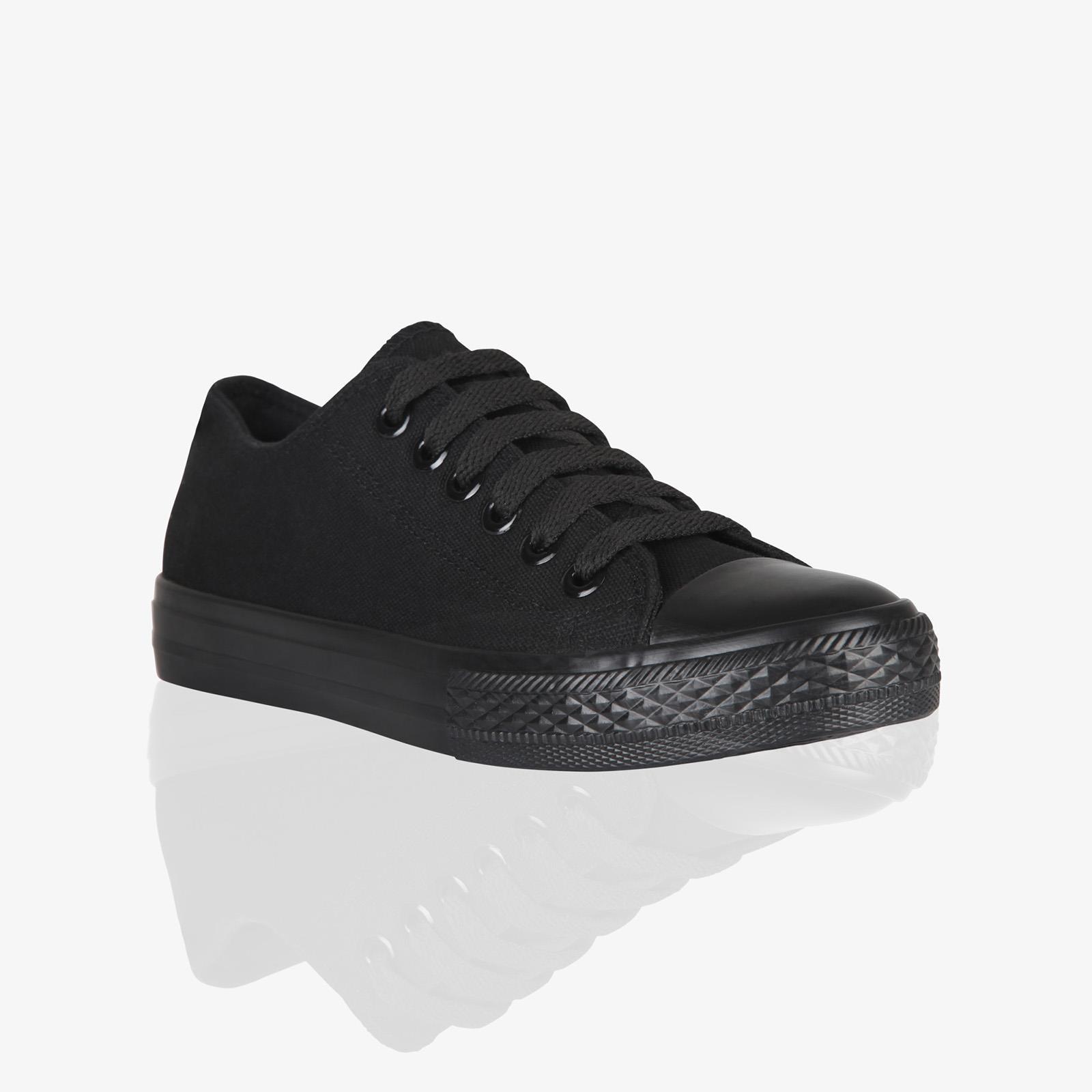Zapatillas-Mujer-Casuales-Deportiva-Barata-Lona-Moda-Originales-Outlet-Tela-Moda miniatura 28