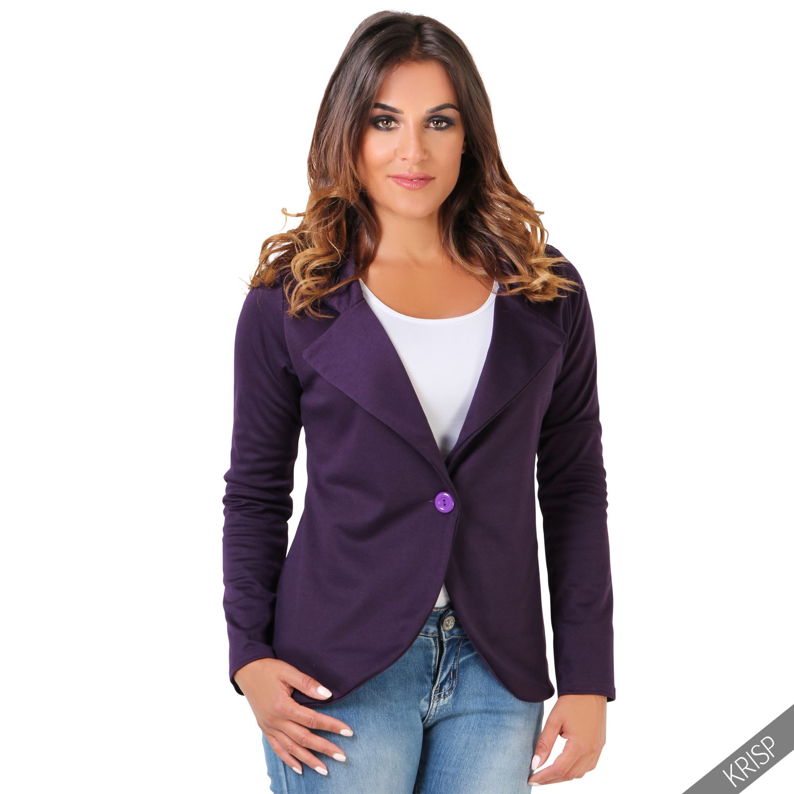 Aoxite Womens Maxim Casual JacketLook fierce in this hip-length womens Maxim jacket constructed of a lightweight PU and cotton shell. Features a zip-front closure, a .