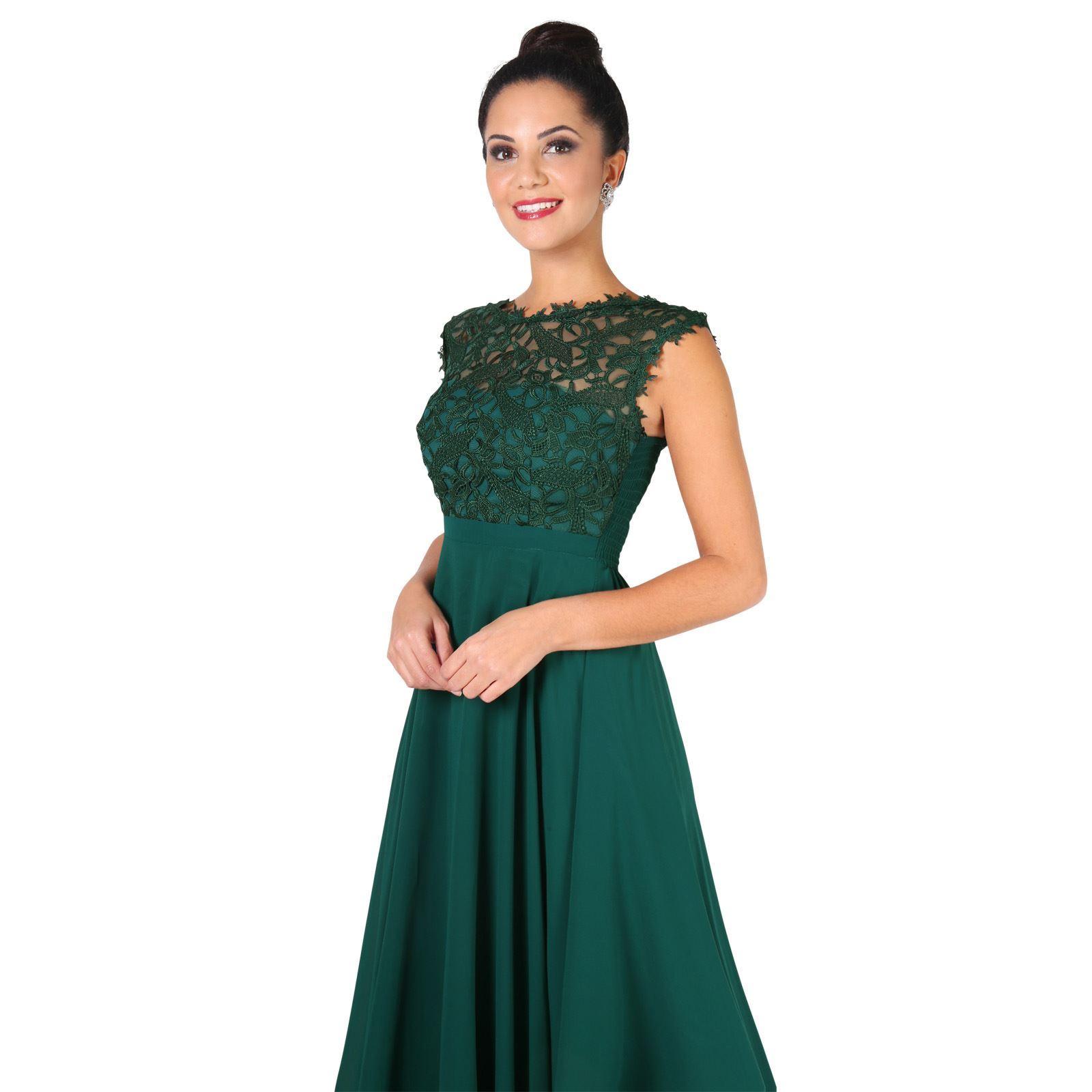 Womens-Wedding-Bridesmaid-Prom-Dress-Formal-One-Off-Shoulder-Long-Evening-8-18 thumbnail 18